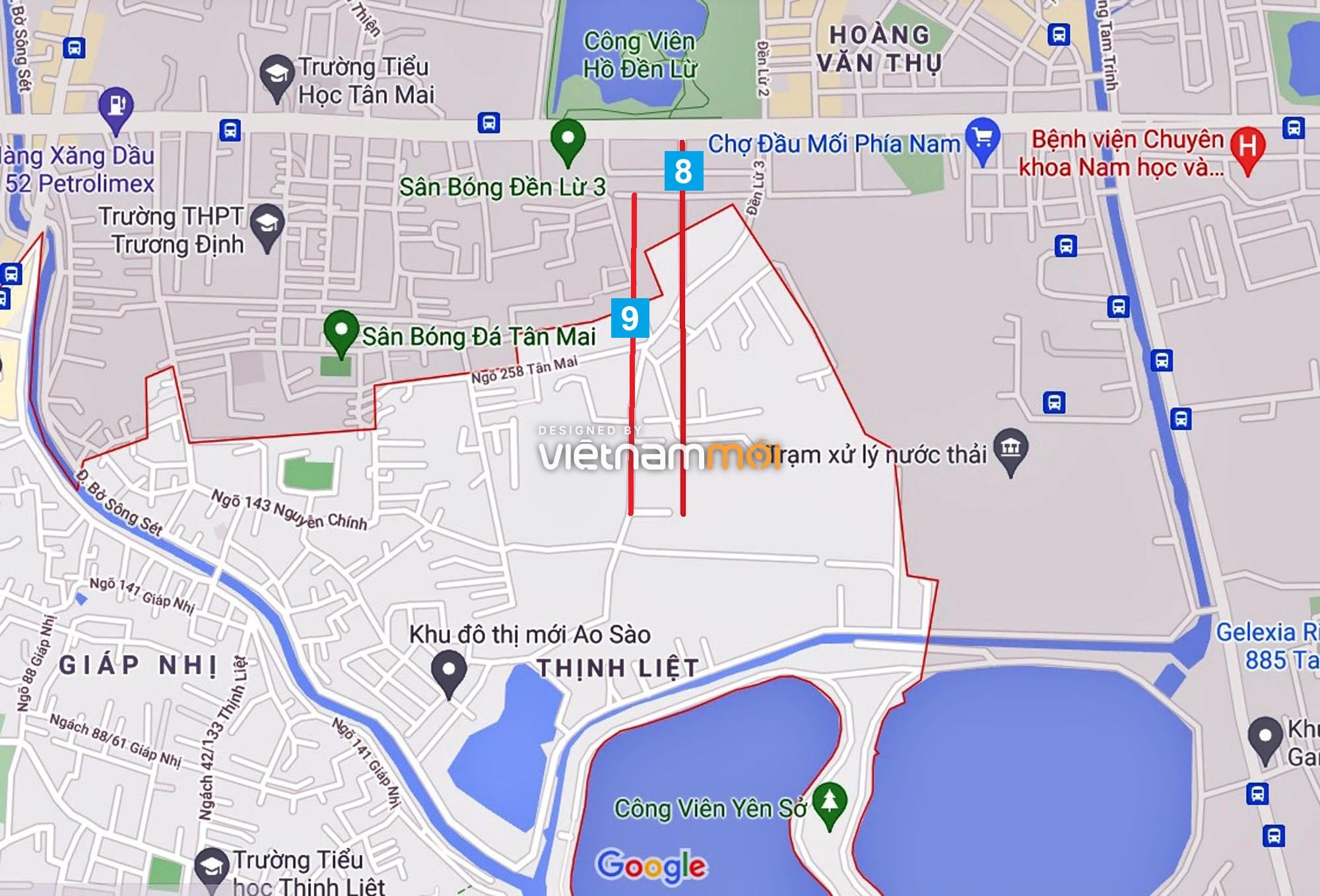 Đường sẽ mở theo quy hoạch ở phường Thịnh Liệt, Hoàng Mai, Hà Nội (phần 3) - Ảnh 5.
