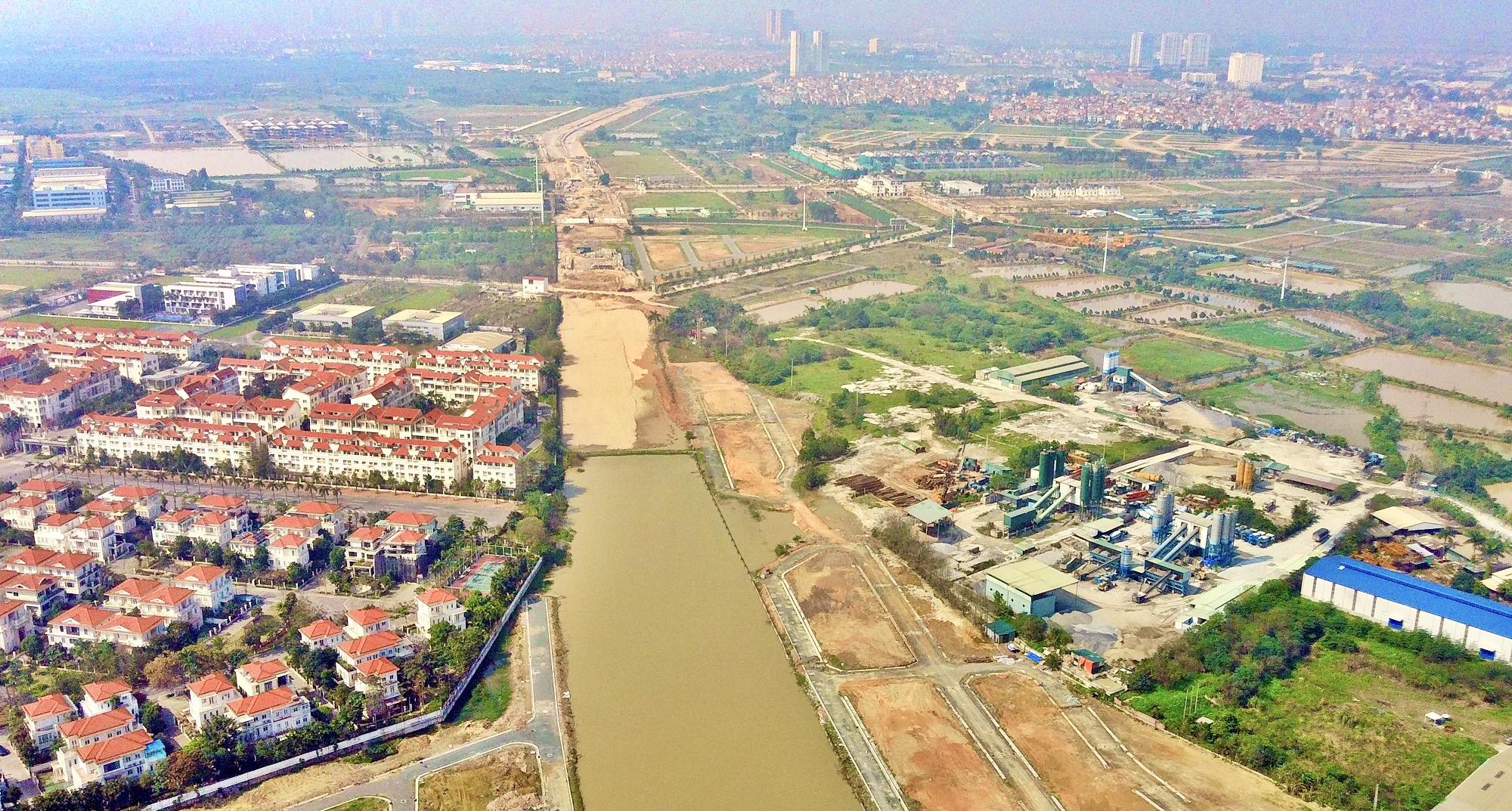 Duyệt kế hoạch sử dụng đất huyện Hoài Đức năm 2021, hoàn thiện dự án vành đai 3,5 - Ảnh 1.