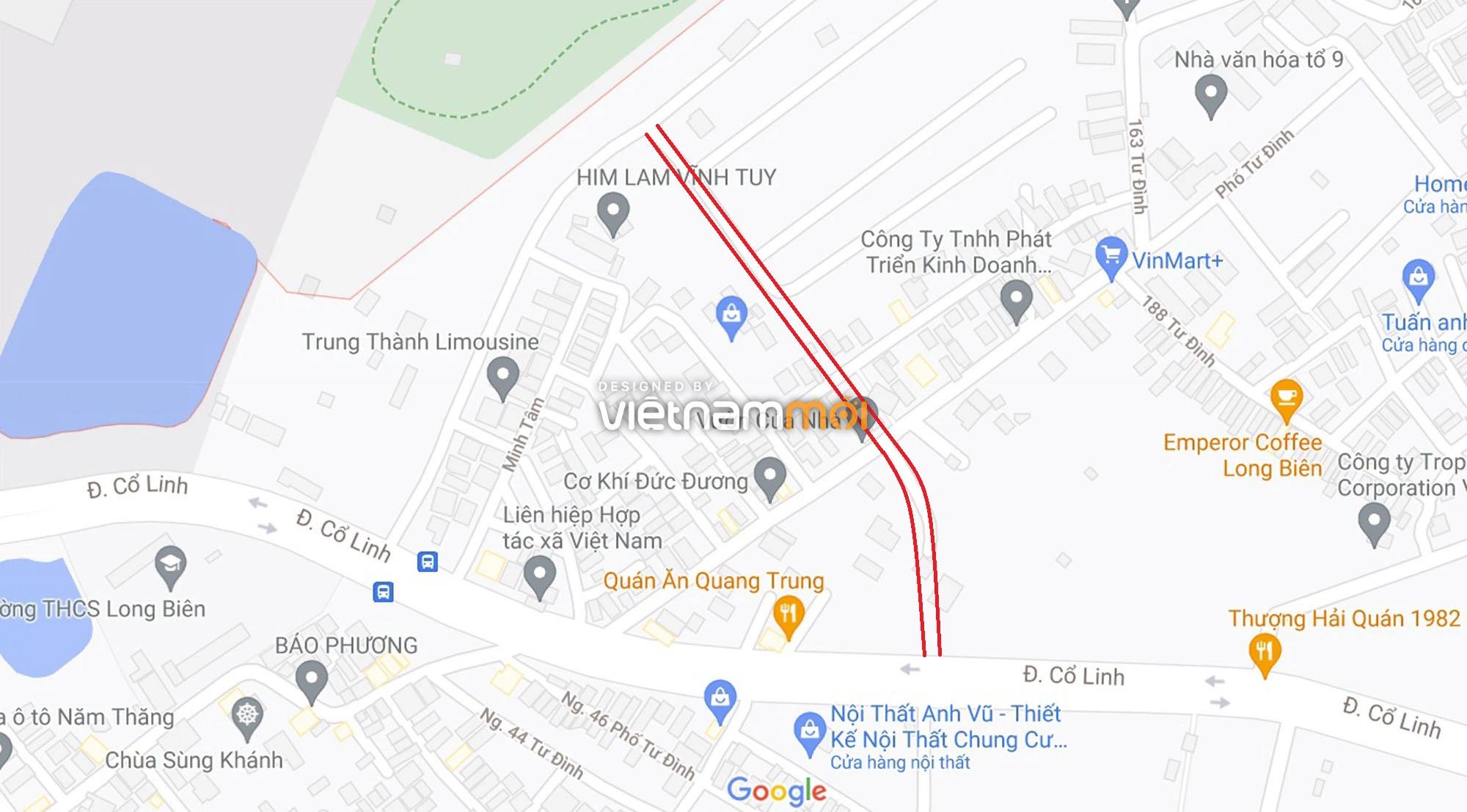 Đường sẽ mở theo quy hoạch ở phường Long Biên, Long Biên, Hà Nội (phần 2) - Ảnh 1.