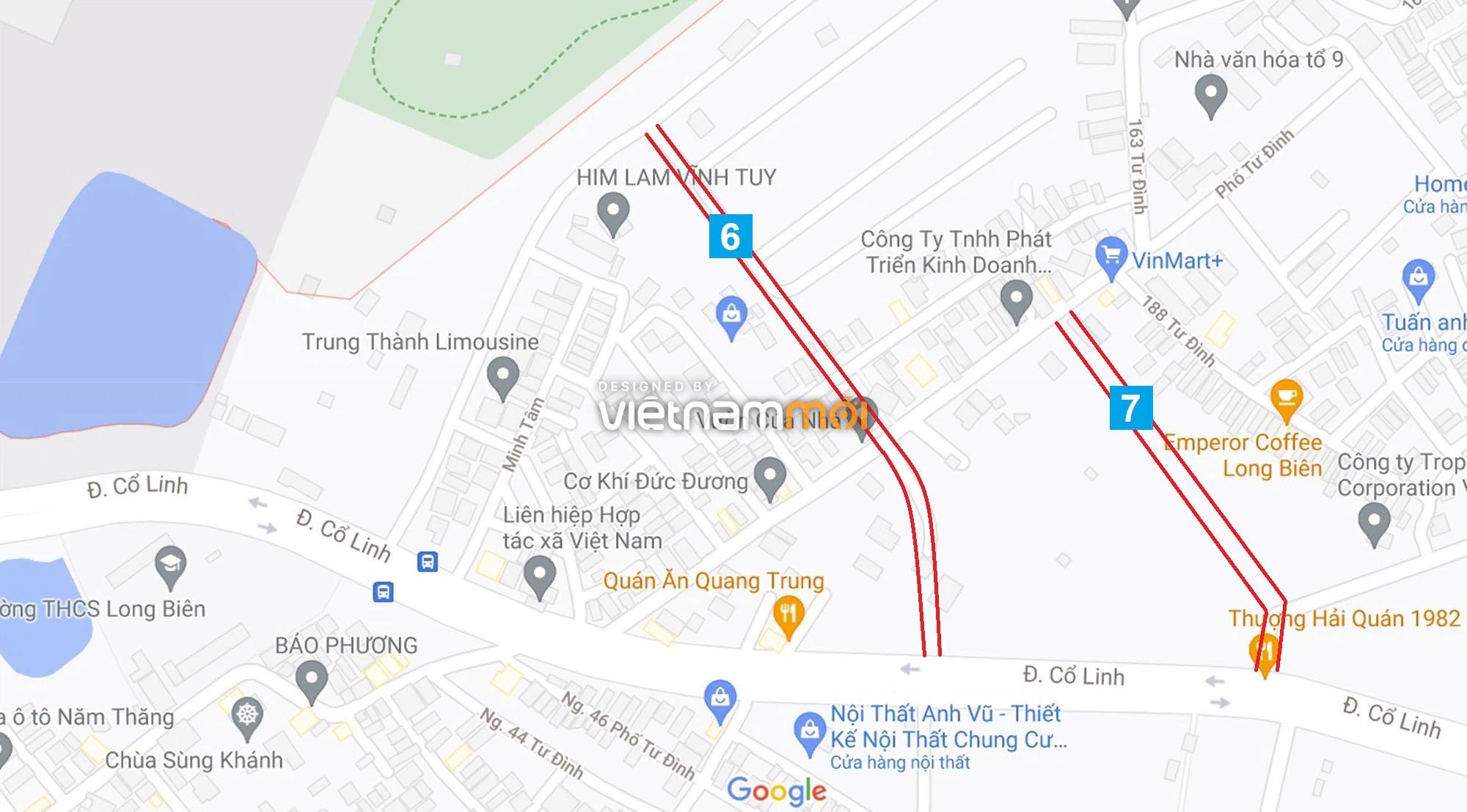 Đường sẽ mở theo quy hoạch ở phường Long Biên, Long Biên, Hà Nội (phần 2) - Ảnh 6.