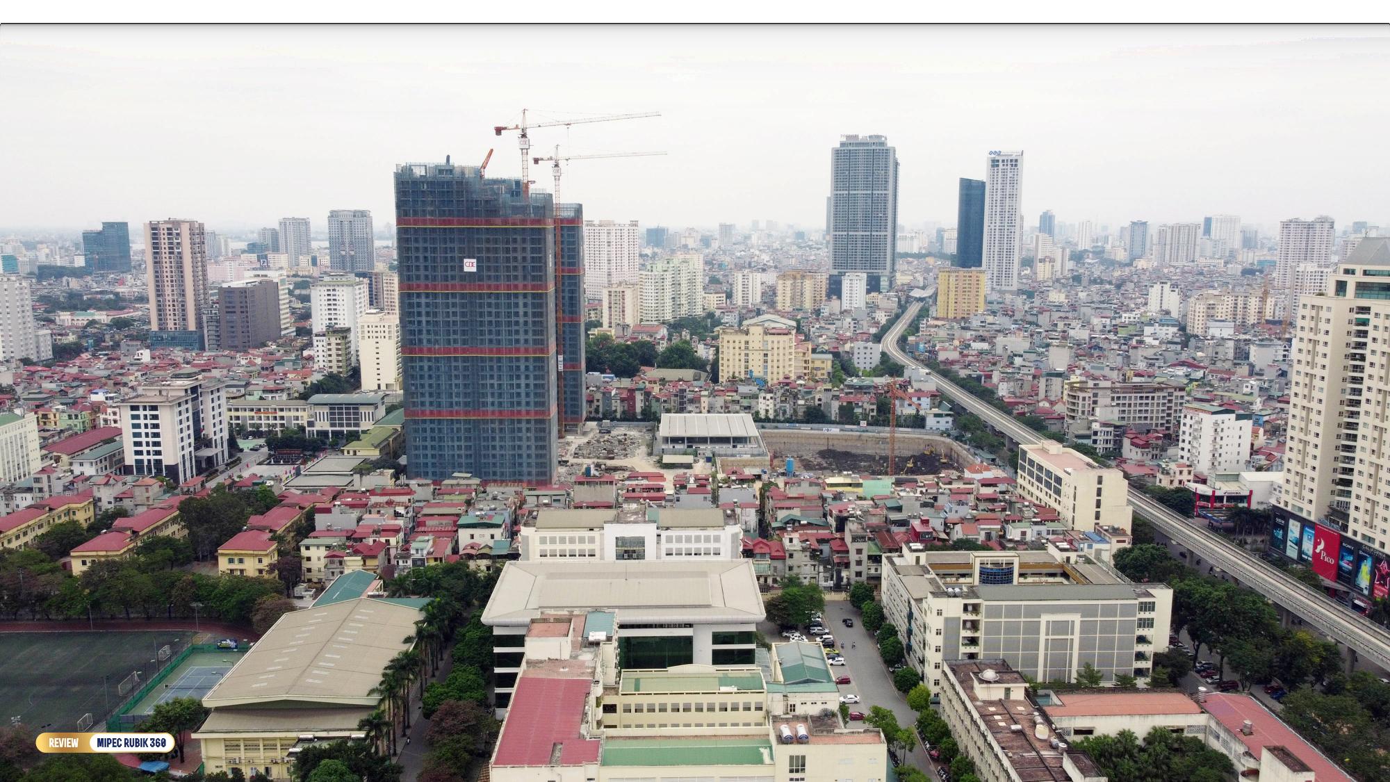 Review dự án Mipec Rubik 360: Tổ hợp biệt thự, chung cư cao tầng hiếm hoi trên trục đường Xuân Thủy - Ảnh 1.