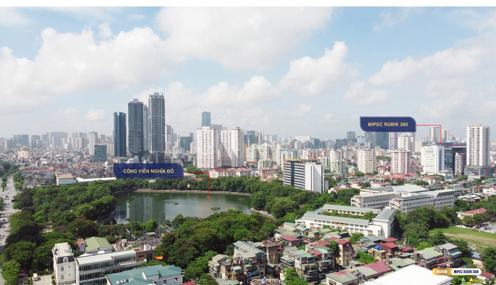 Review dự án Mipec Rubik 360: Tổ hợp biệt thự, chung cư cao tầng hiếm hoi trên trục đường Xuân Thủy - Ảnh 5.