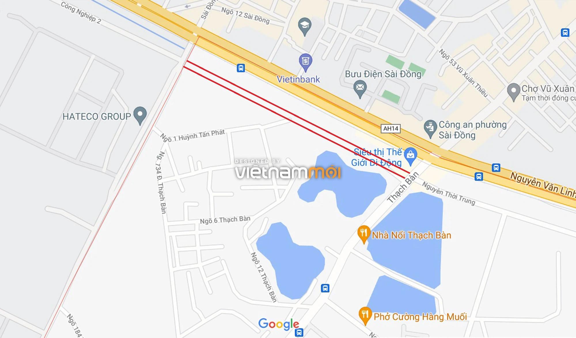 Đường sẽ mở theo quy hoạch ở phường Thạch Bàn, Long Biên, Hà Nội (phần 2) - Ảnh 1.