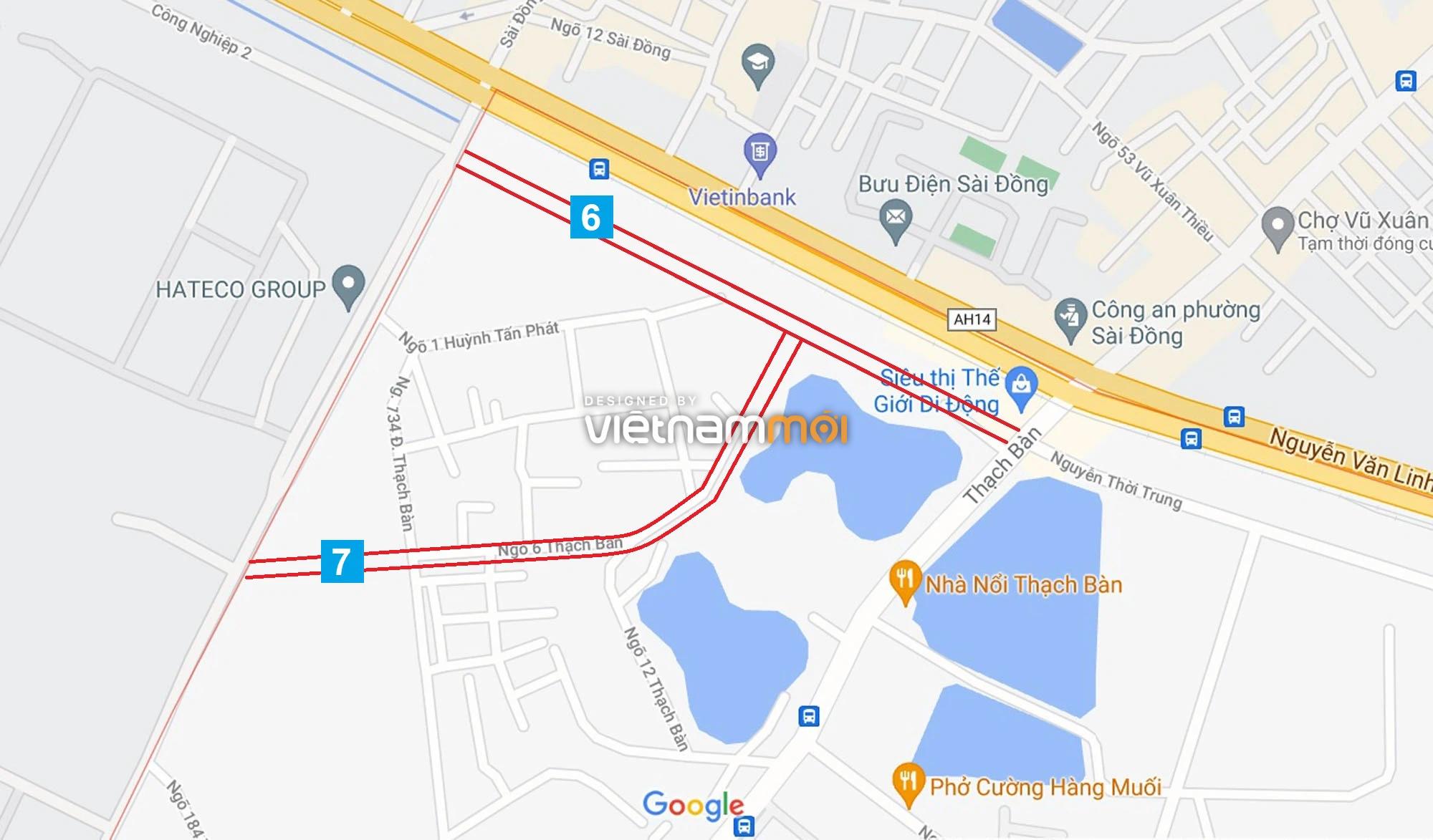 Đường sẽ mở theo quy hoạch ở phường Thạch Bàn, Long Biên, Hà Nội (phần 2) - Ảnh 5.