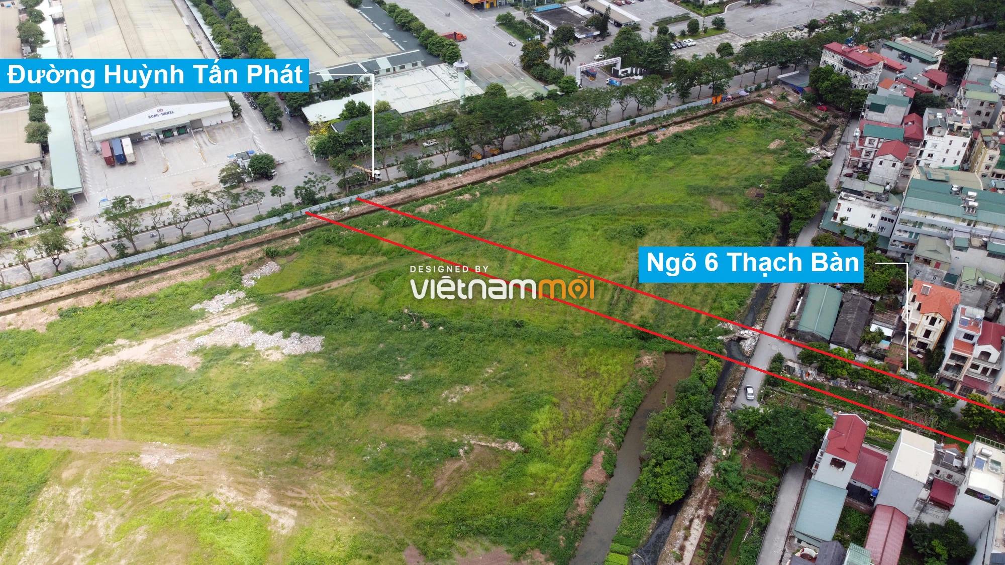 Đường sẽ mở theo quy hoạch ở phường Thạch Bàn, Long Biên, Hà Nội (phần 2) - Ảnh 6.