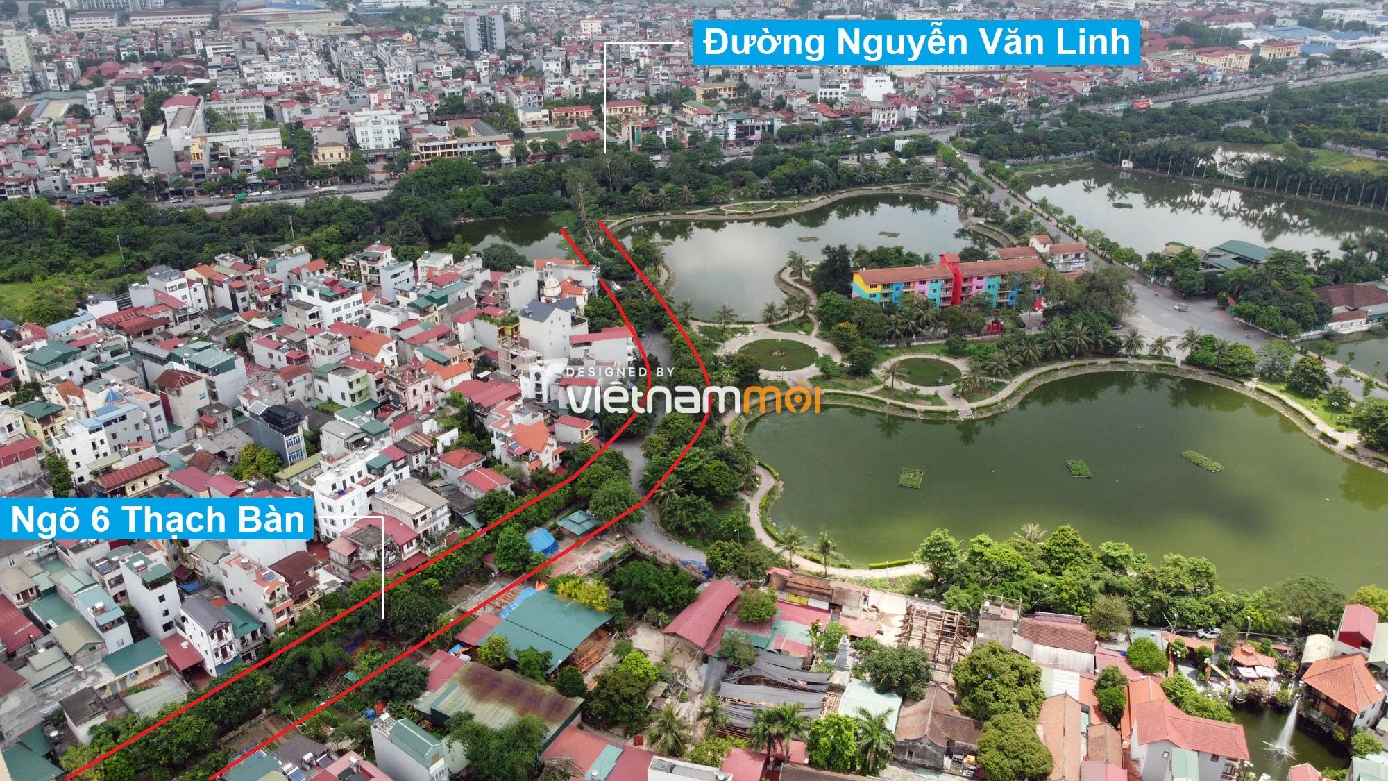 Đường sẽ mở theo quy hoạch ở phường Thạch Bàn, Long Biên, Hà Nội (phần 2) - Ảnh 7.