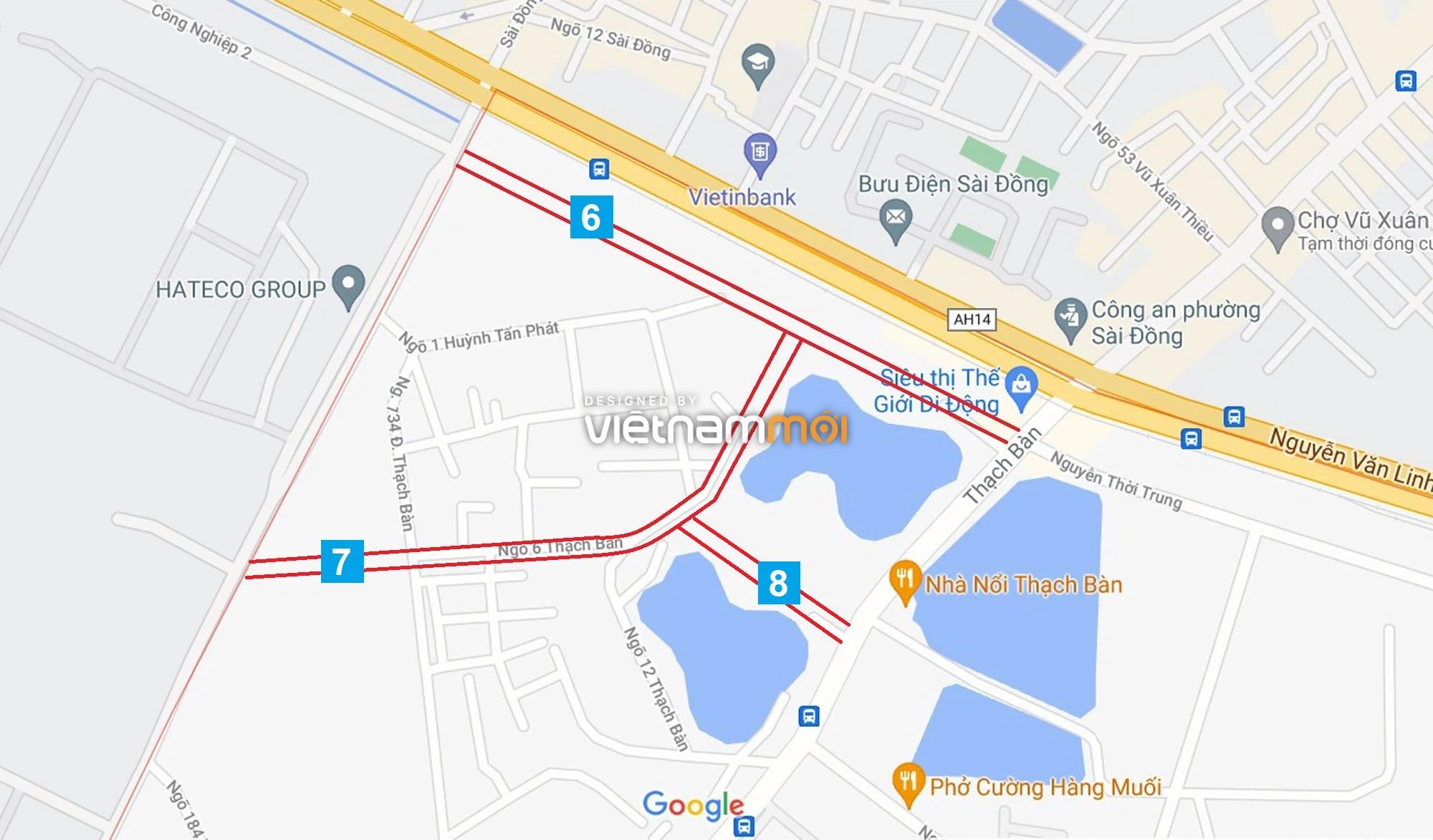 Đường sẽ mở theo quy hoạch ở phường Thạch Bàn, Long Biên, Hà Nội (phần 2) - Ảnh 10.