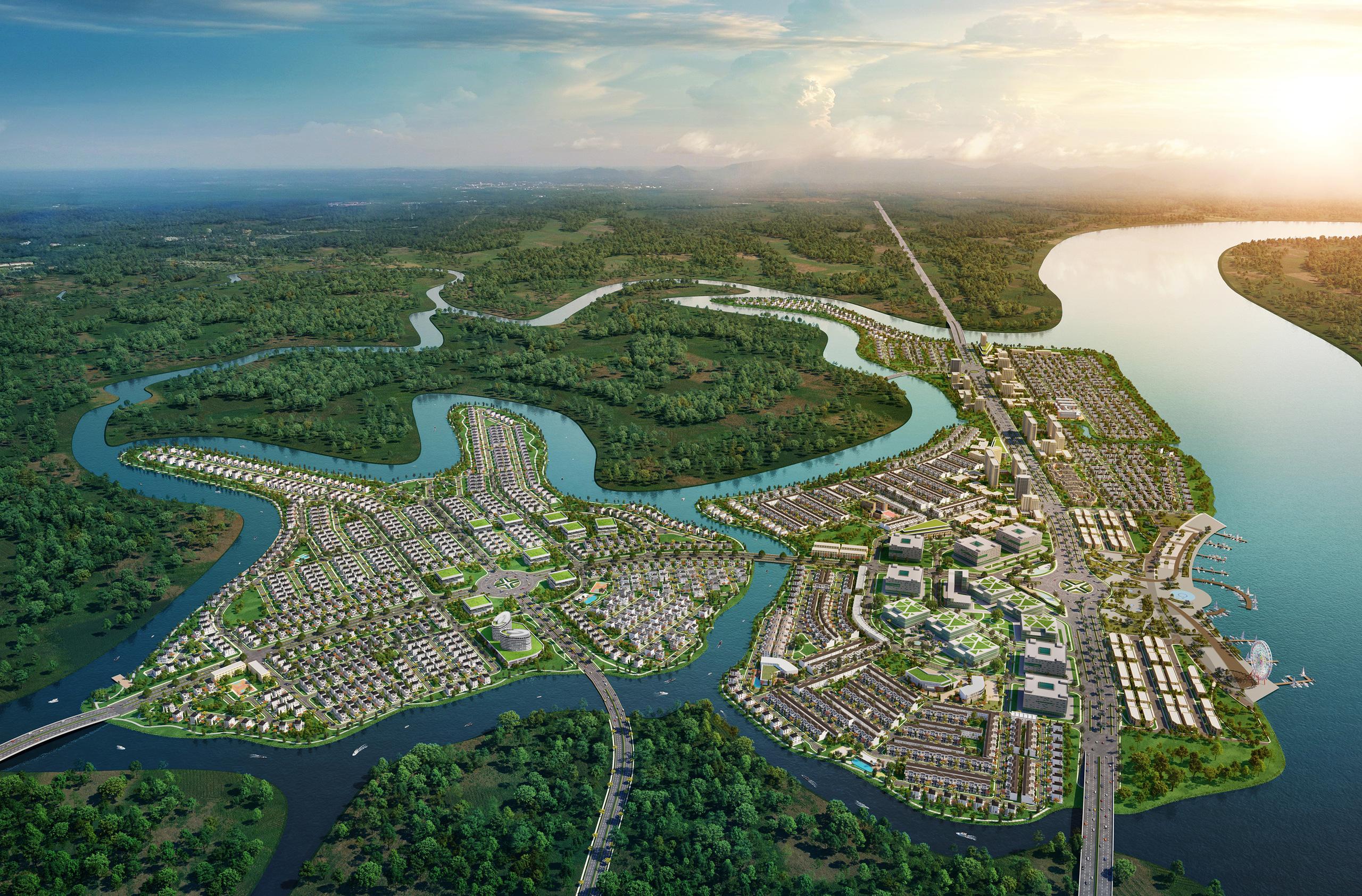 Novaland tài trợ lập đề án điều chỉnh quy hoạch 1/500 KĐT Aquacity hơn 305 ha - Ảnh 1.