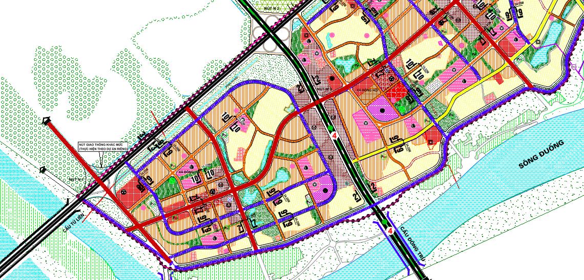 Bản đồ quy hoạch giao thông xã Đông Hội, Đông Anh, Hà Nội - Ảnh 3.