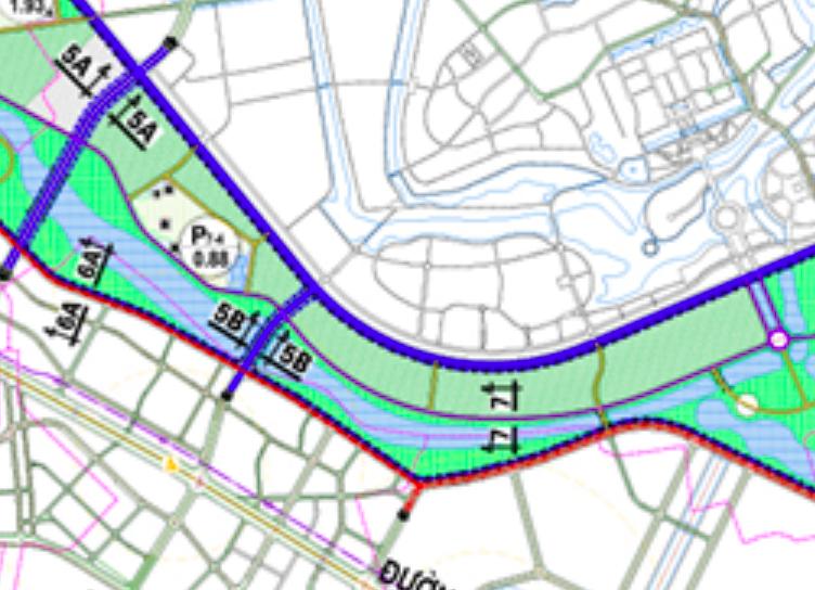 Bản đồ quy hoạch giao thông xã Đông Hội, Đông Anh, Hà Nội - Ảnh 4.