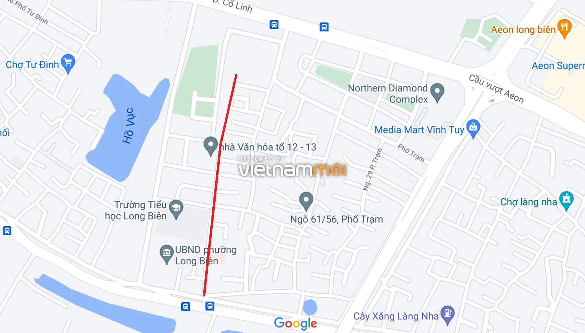 Đường sẽ mở theo quy hoạch ở phường Long Biên, Long Biên, Hà Nội (phần 3) - Ảnh 5.