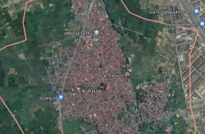Đất dính quy hoạch ở xã La Phù, Hoài Đức, Hà Nội - Ảnh 2.