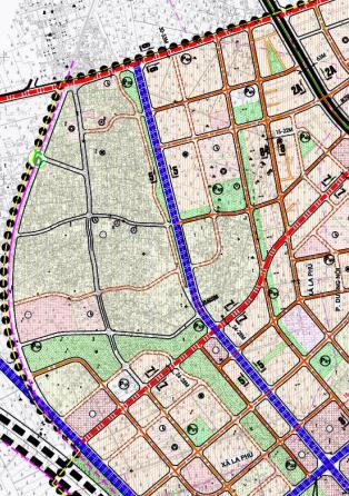 Bản đồ quy hoạch giao thông xã La Phù, Hoài Đức, Hà Nội - Ảnh 4.
