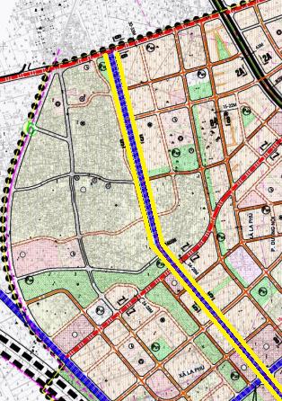Đường sẽ mở ở xã La Phù, Hoài Đức, Hà Nội - Ảnh 1.