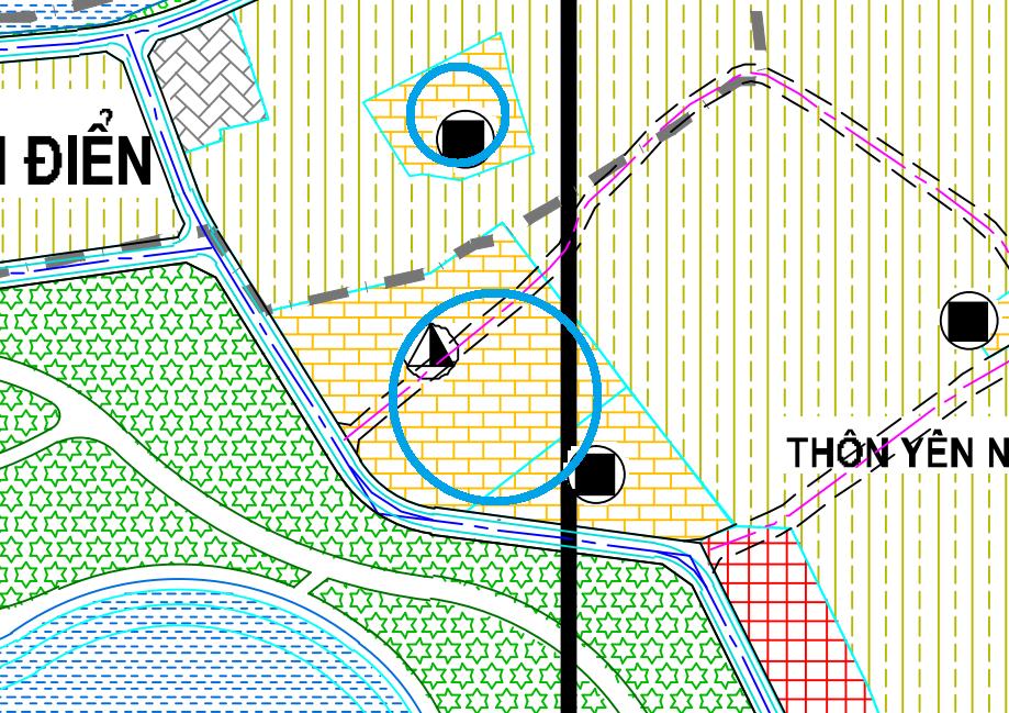 Đất dính quy hoạch ở xã Tam Hiệp, Thanh Trì, Hà Nội - Ảnh 1.