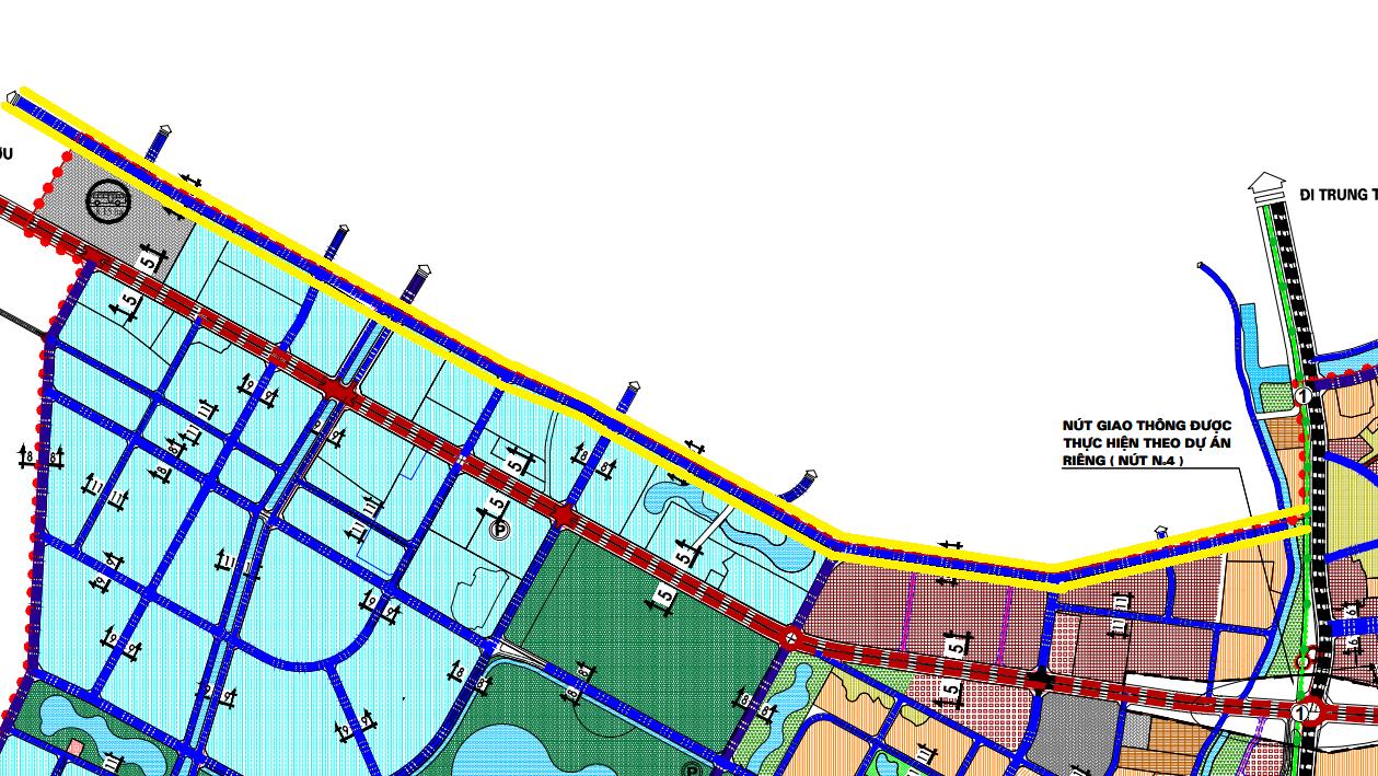 Đường sẽ mở ở xã Tam Hiệp, Thanh Trì, Hà Nội - Ảnh 1.