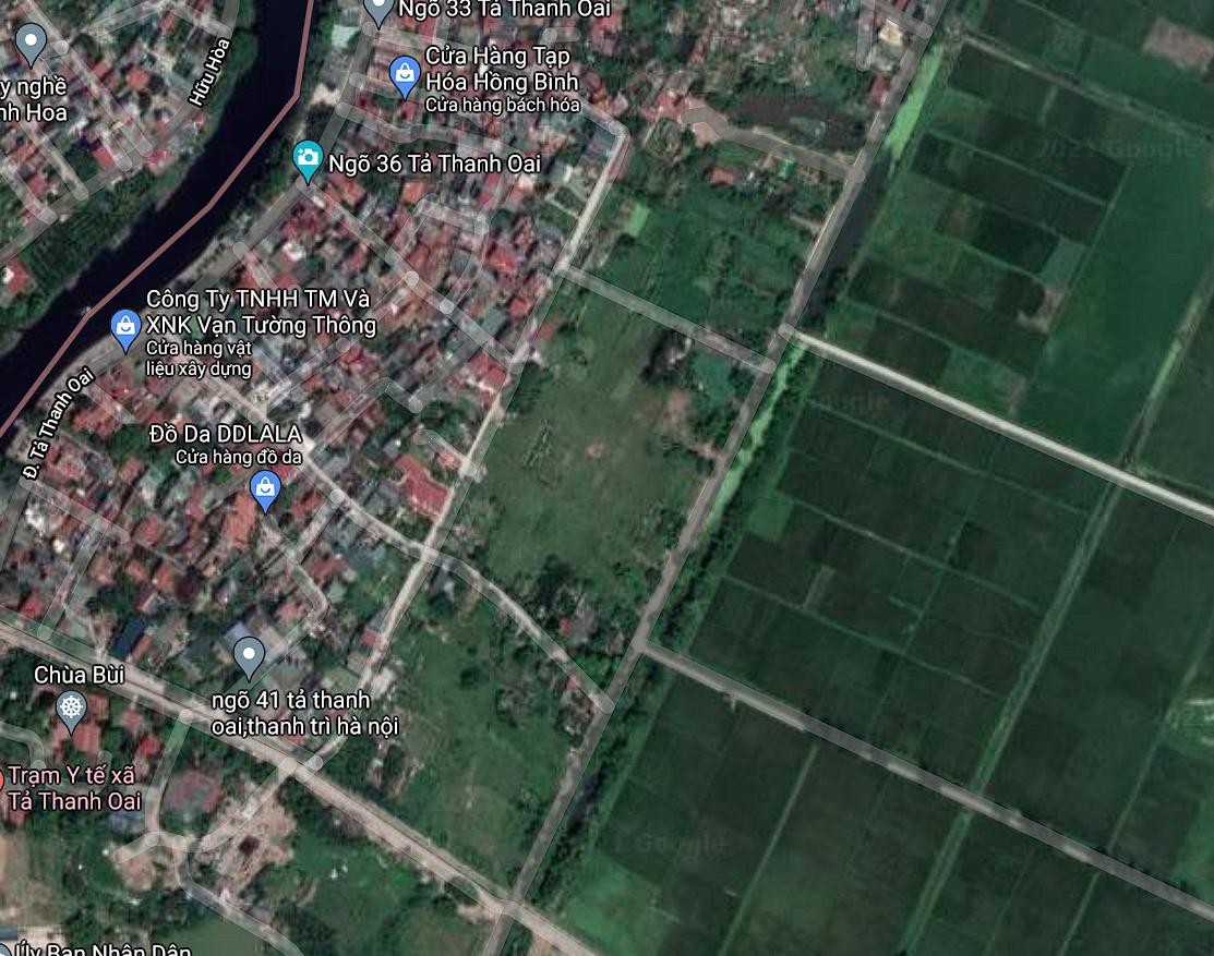 Đất dính quy hoạch ở xã Tả Thanh Oai, Thanh Trì, Hà Nội - Ảnh 2.