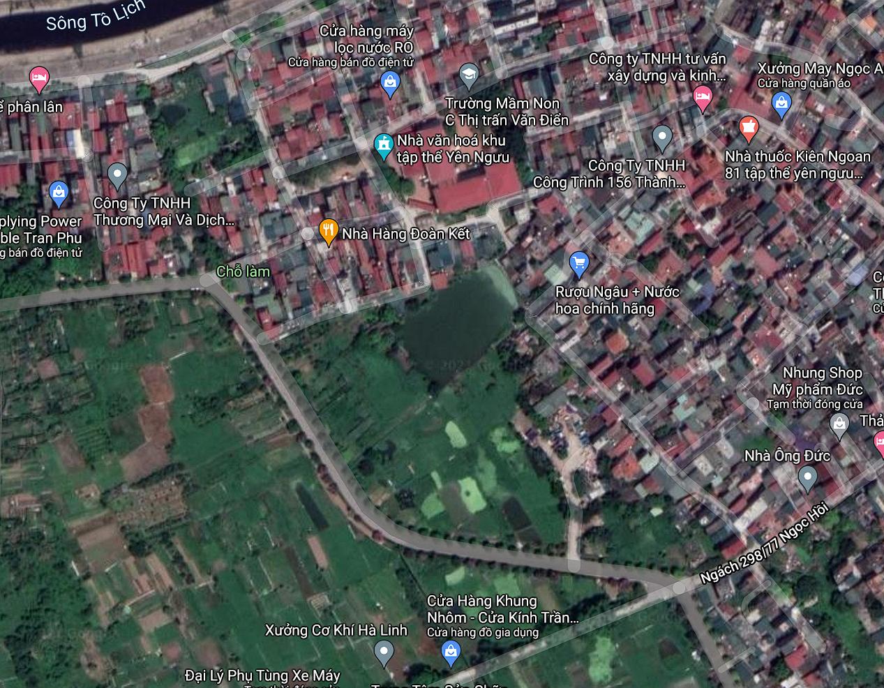 Đất dính quy hoạch ở xã Tam Hiệp, Thanh Trì, Hà Nội - Ảnh 2.