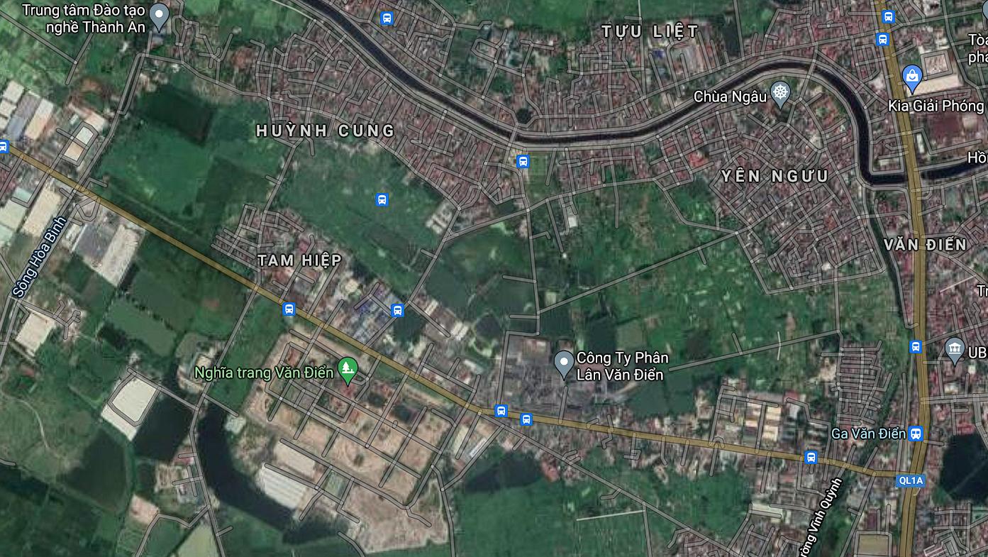 Đường sẽ mở ở xã Tam Hiệp, Thanh Trì, Hà Nội - Ảnh 2.