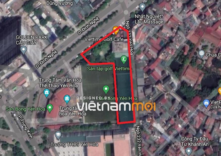 Những khu đất dính quy hoạch ở phường Yên Hòa, Cầu Giấy, Hà Nội (phần 2)  - Ảnh 3.
