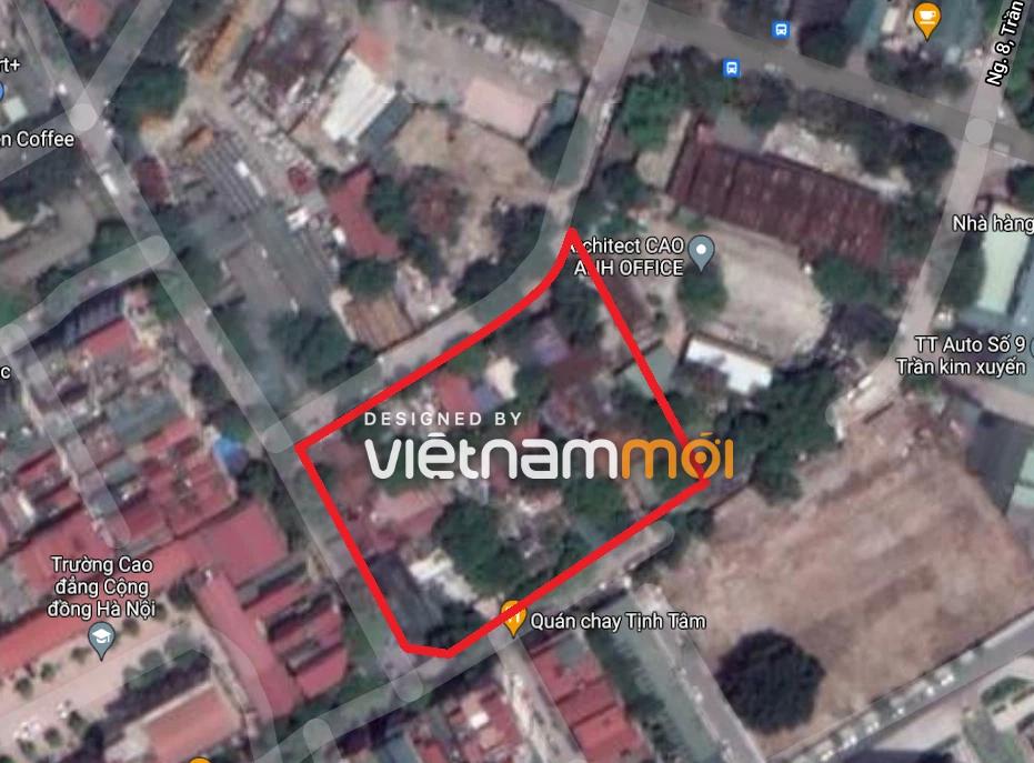 Những khu đất dính quy hoạch ở phường Yên Hòa, Cầu Giấy, Hà Nội (phần 2)  - Ảnh 7.
