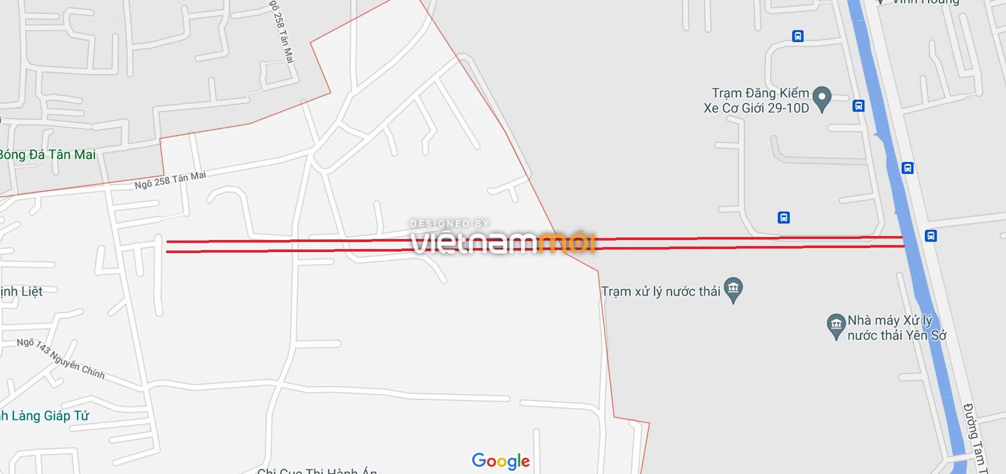 Đường sẽ mở theo quy hoạch ở phường Thịnh Liệt, Hoàng Mai, Hà Nội (phần 4) - Ảnh 1.