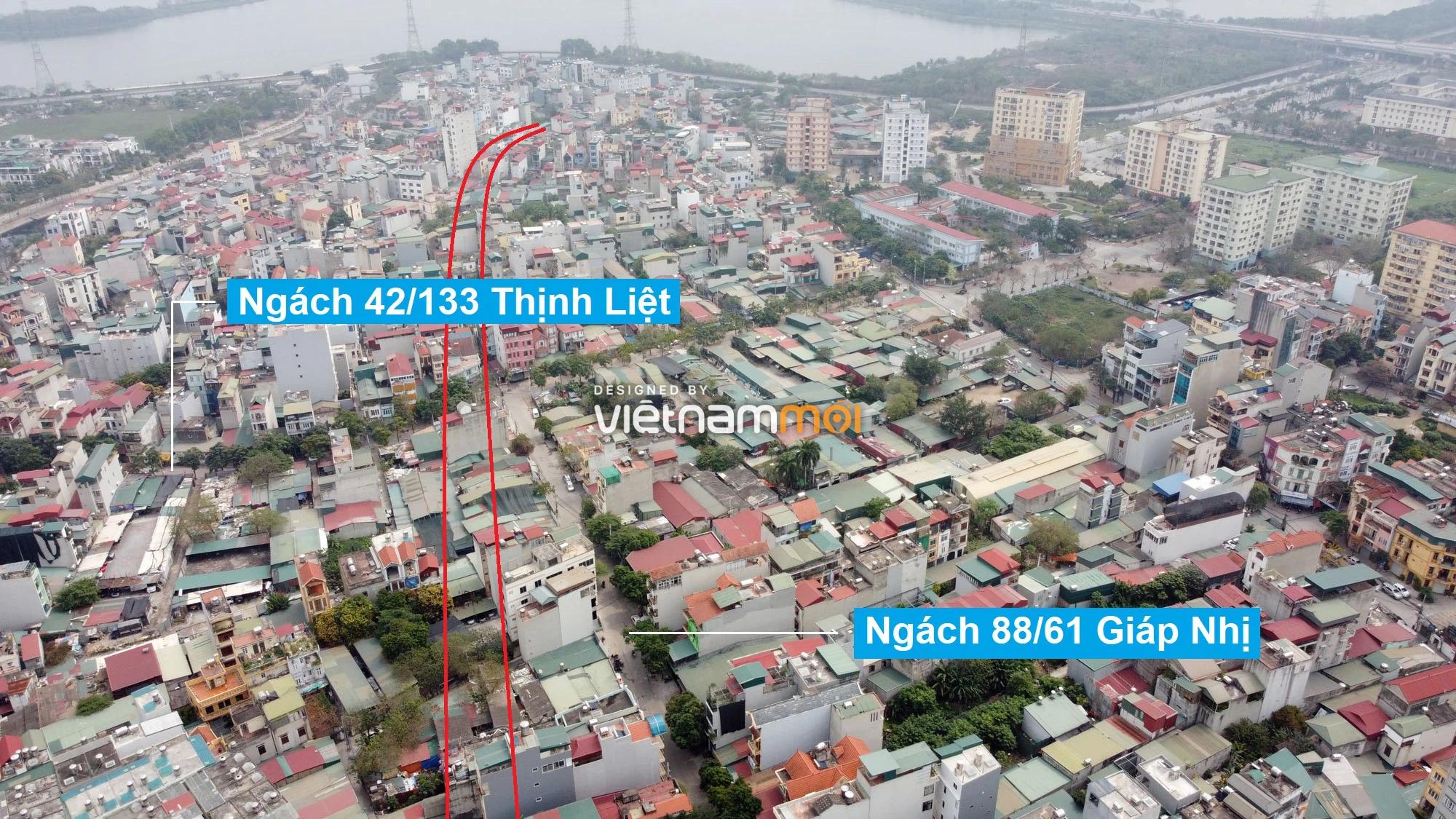 Đường sẽ mở theo quy hoạch ở phường Thịnh Liệt, Hoàng Mai, Hà Nội (phần 4) - Ảnh 8.