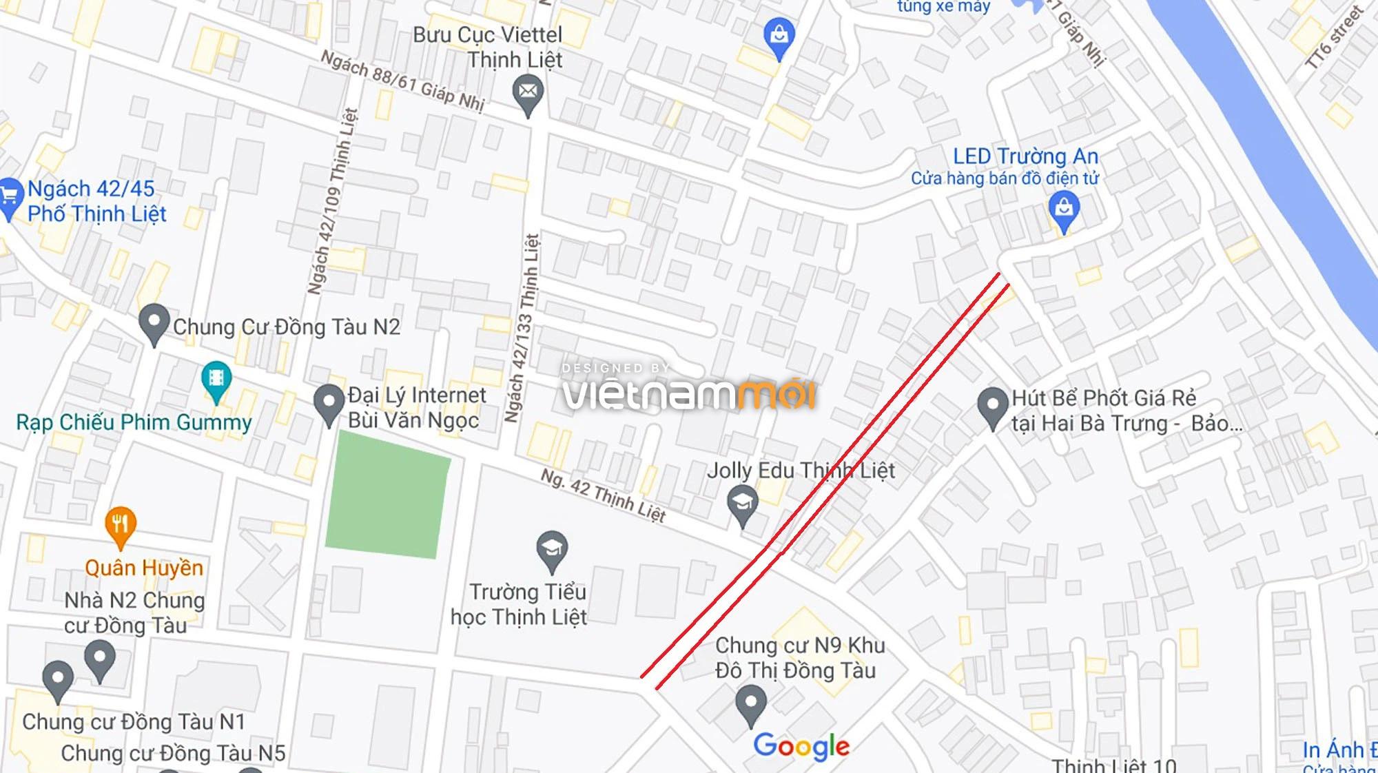 Đường sẽ mở theo quy hoạch ở phường Thịnh Liệt, Hoàng Mai, Hà Nội (phần 4) - Ảnh 10.