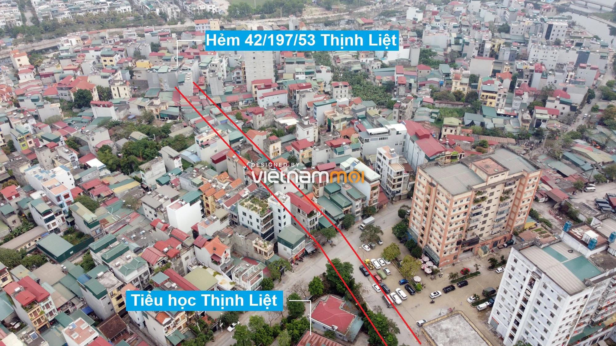 Đường sẽ mở theo quy hoạch ở phường Thịnh Liệt, Hoàng Mai, Hà Nội (phần 4) - Ảnh 12.
