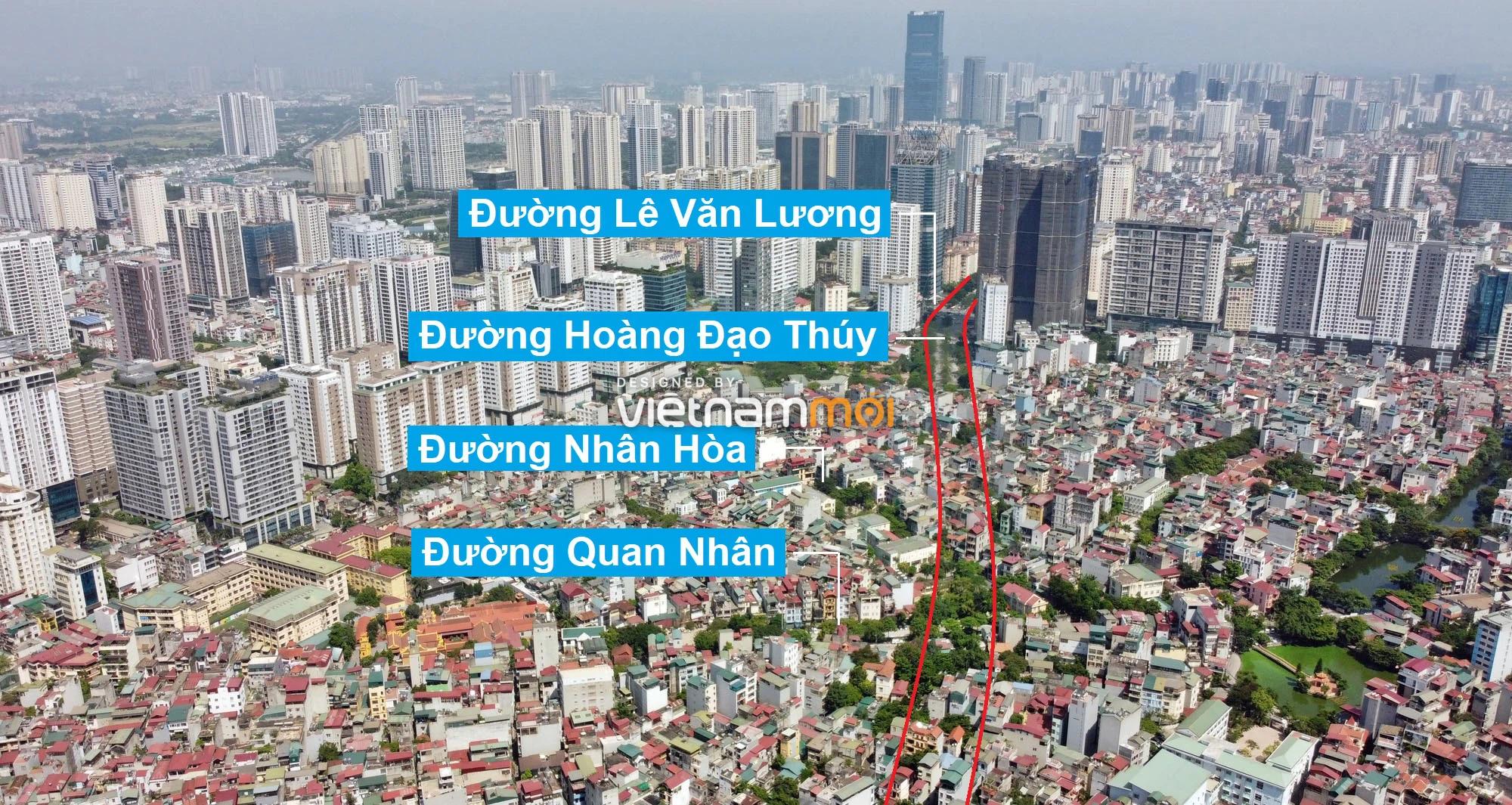 Vành đai 2,5 sẽ mở theo quy hoạch qua quận Thanh Xuân, Hà Nội - Ảnh 1.