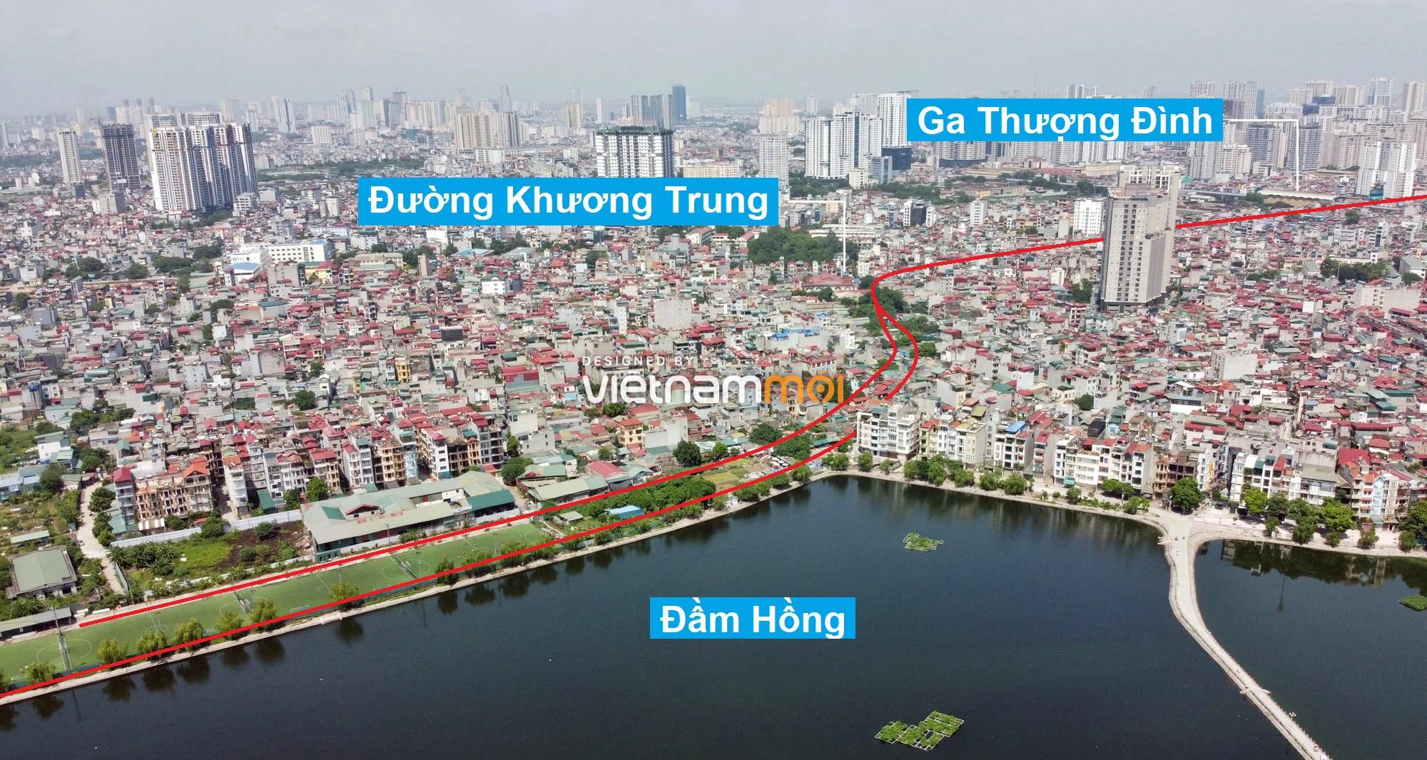 Vành đai 2,5 sẽ mở theo quy hoạch qua quận Thanh Xuân, Hà Nội - Ảnh 13.