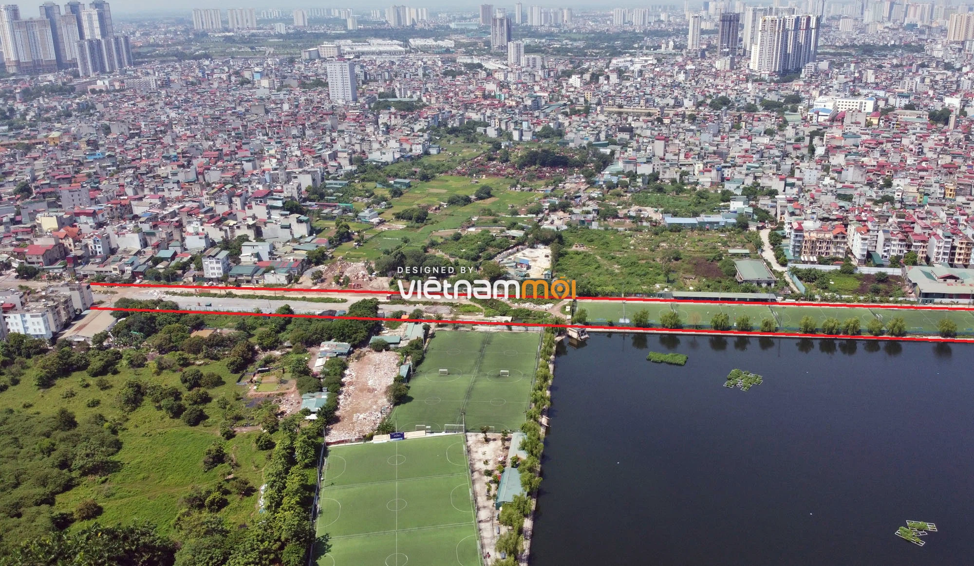 Vành đai 2,5 sẽ mở theo quy hoạch qua quận Thanh Xuân, Hà Nội - Ảnh 14.