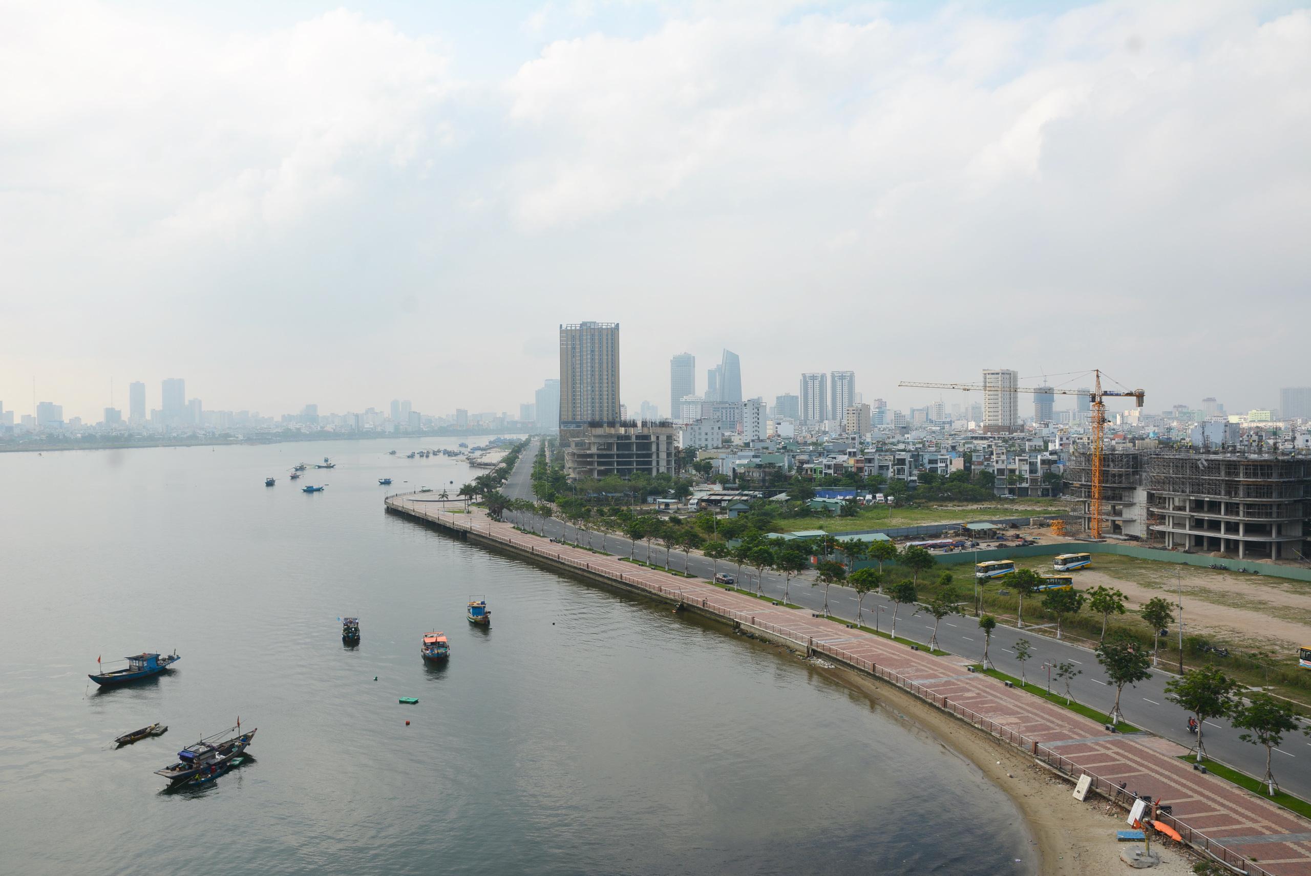 Hạ tầng ven sông Hàn Đà Nẵng hiện tại và trong tương lai - Ảnh 2.