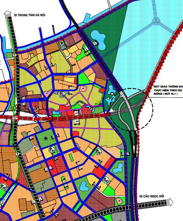 Bản đồ quy hoạch giao thông xã Tứ Hiệp, Thanh Trì, Hà Nội - Ảnh 2.