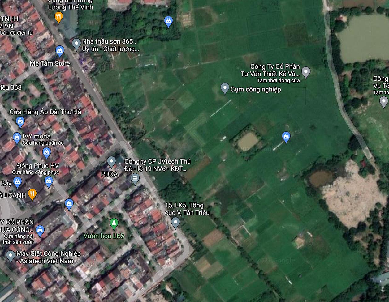 Đất dính quy hoạch ở xã Tân Triều, Thanh Trì, Hà Nội - Ảnh 2.