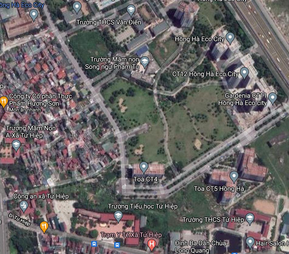 Đất dính quy hoạch ở xã Tứ Hiệp, Thanh Trì, Hà Nội - Ảnh 2.