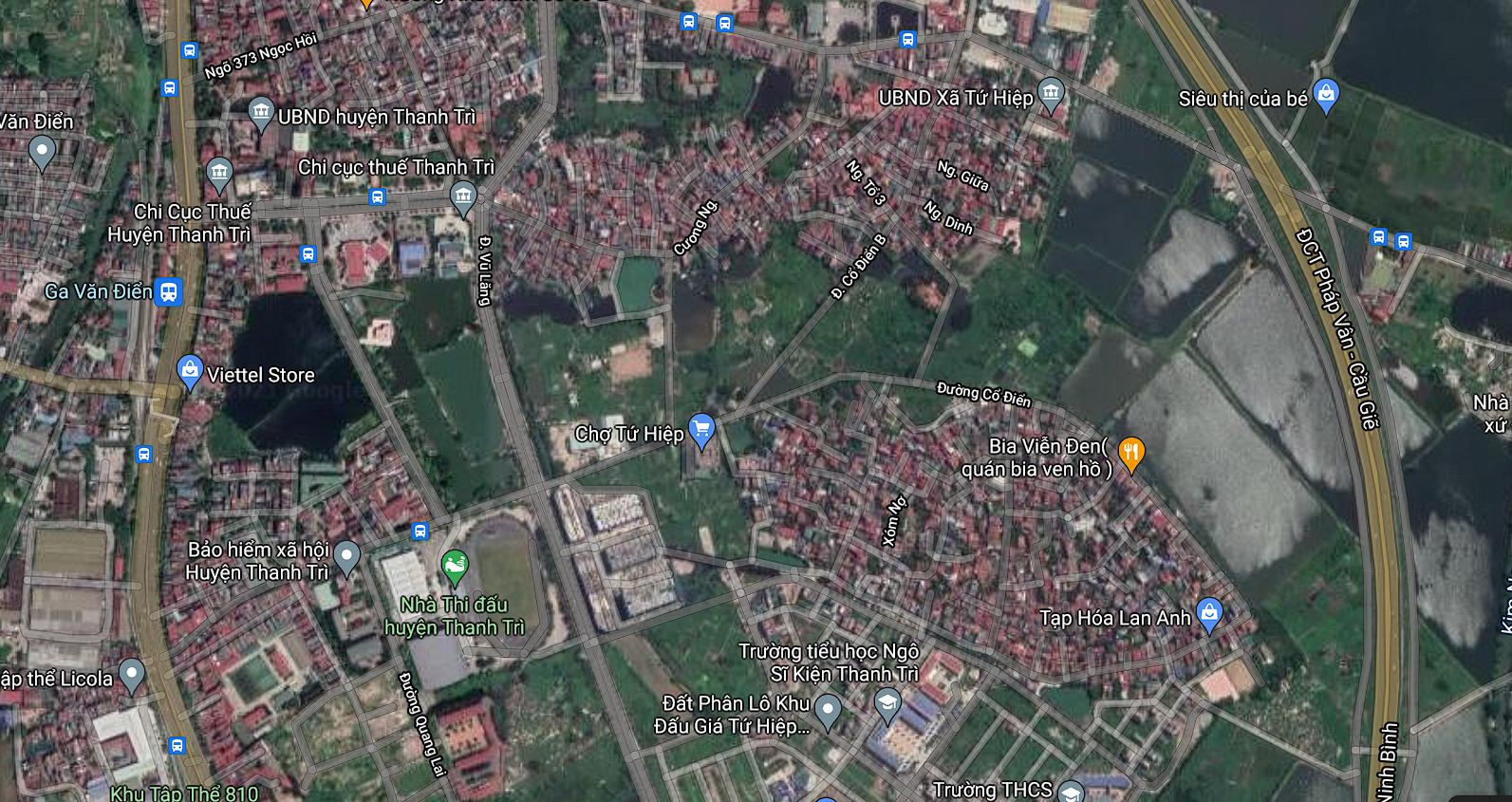 Đường sẽ mở ở xã Tứ Hiệp, Thanh Trì, Hà Nội - Ảnh 2.