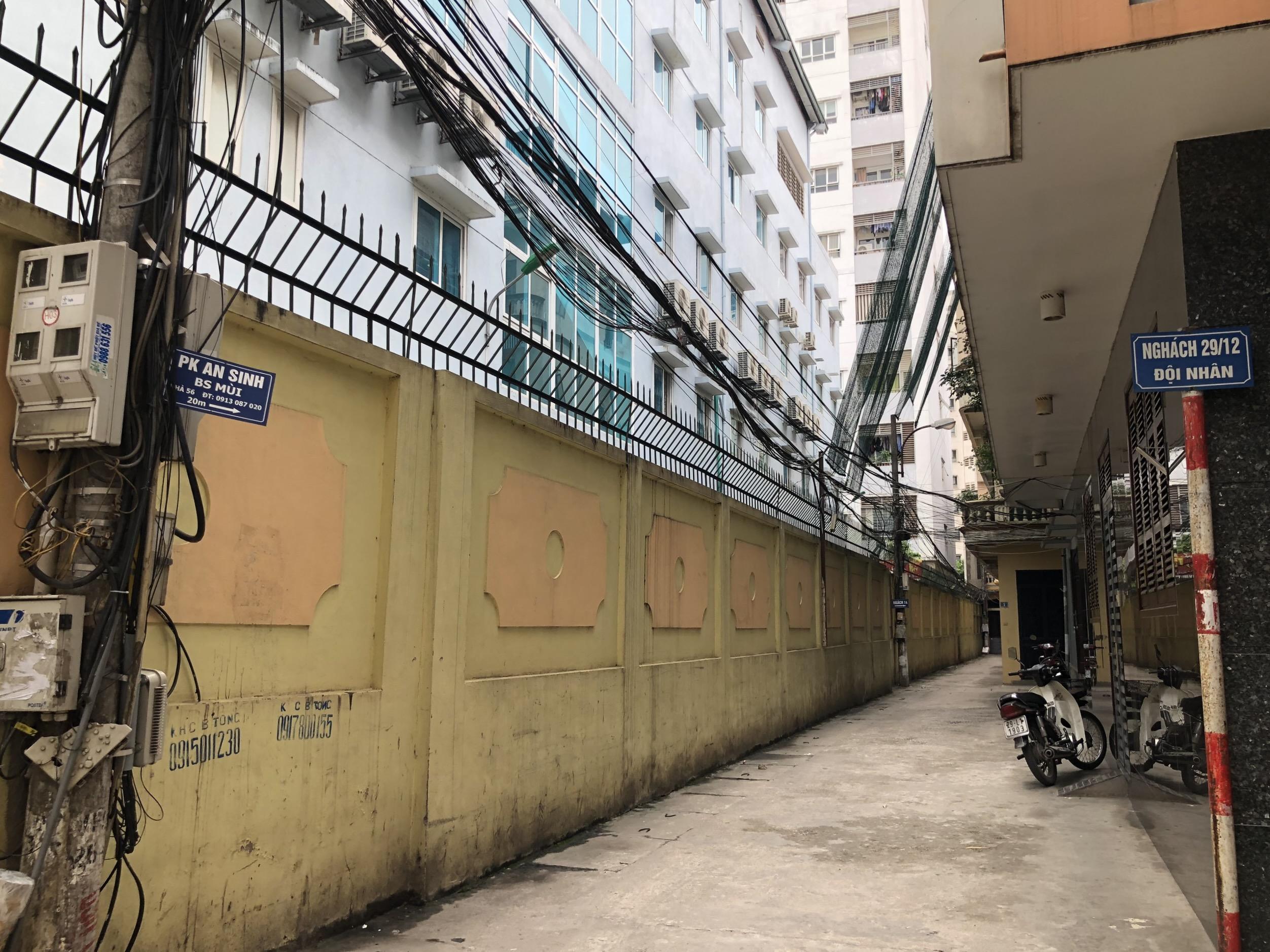 Những khu đất sắp thu hồi ở phường Vĩnh Phúc, quận Ba Đình (phần 2): Đường nối Đội Cấn - Vĩnh Phúc - Ảnh 3.