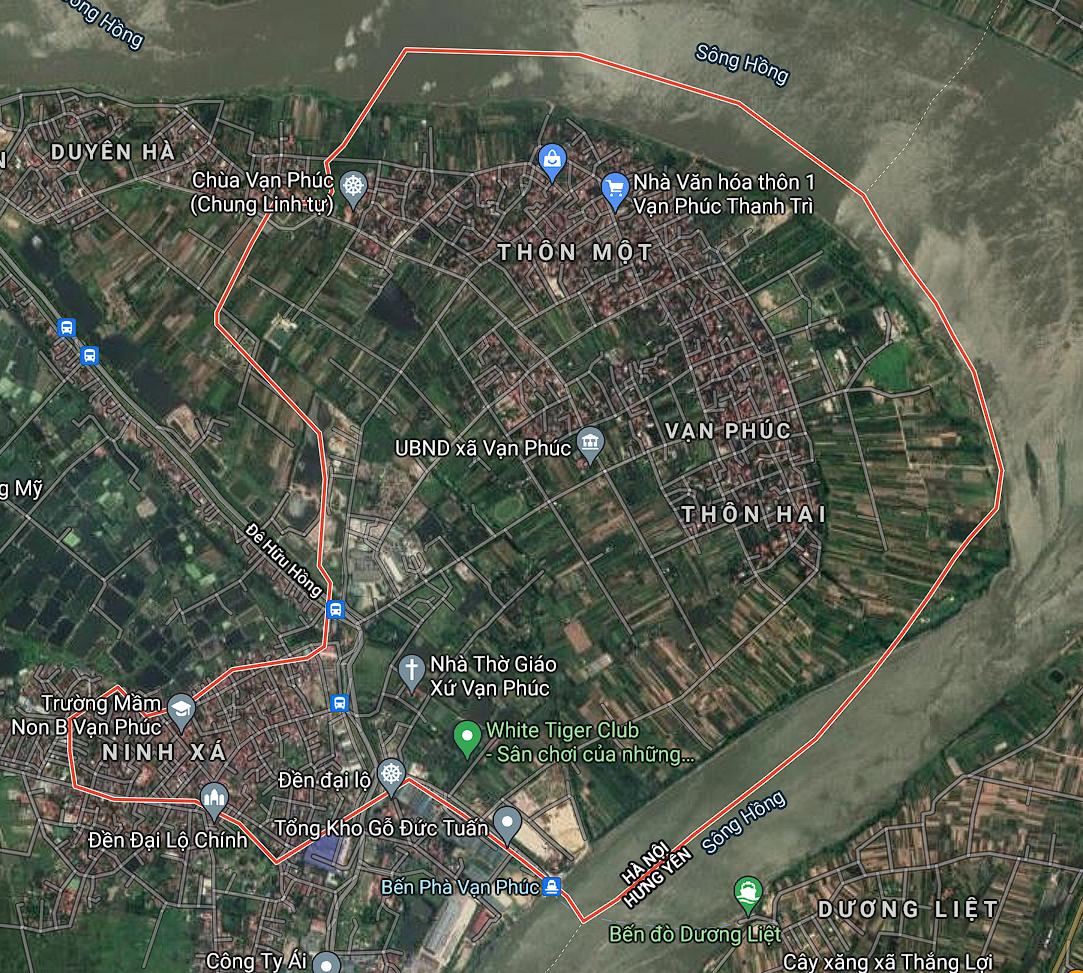 Kế hoạch sử dụng đất xã Vạn Phúc, Thanh Trì, Hà Nội năm 2021 - Ảnh 1.
