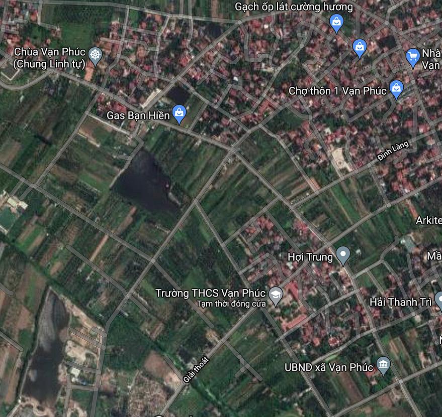 Đường sẽ mở ở xã Vạn Phúc, Thanh Trì, Hà Nội - Ảnh 2.