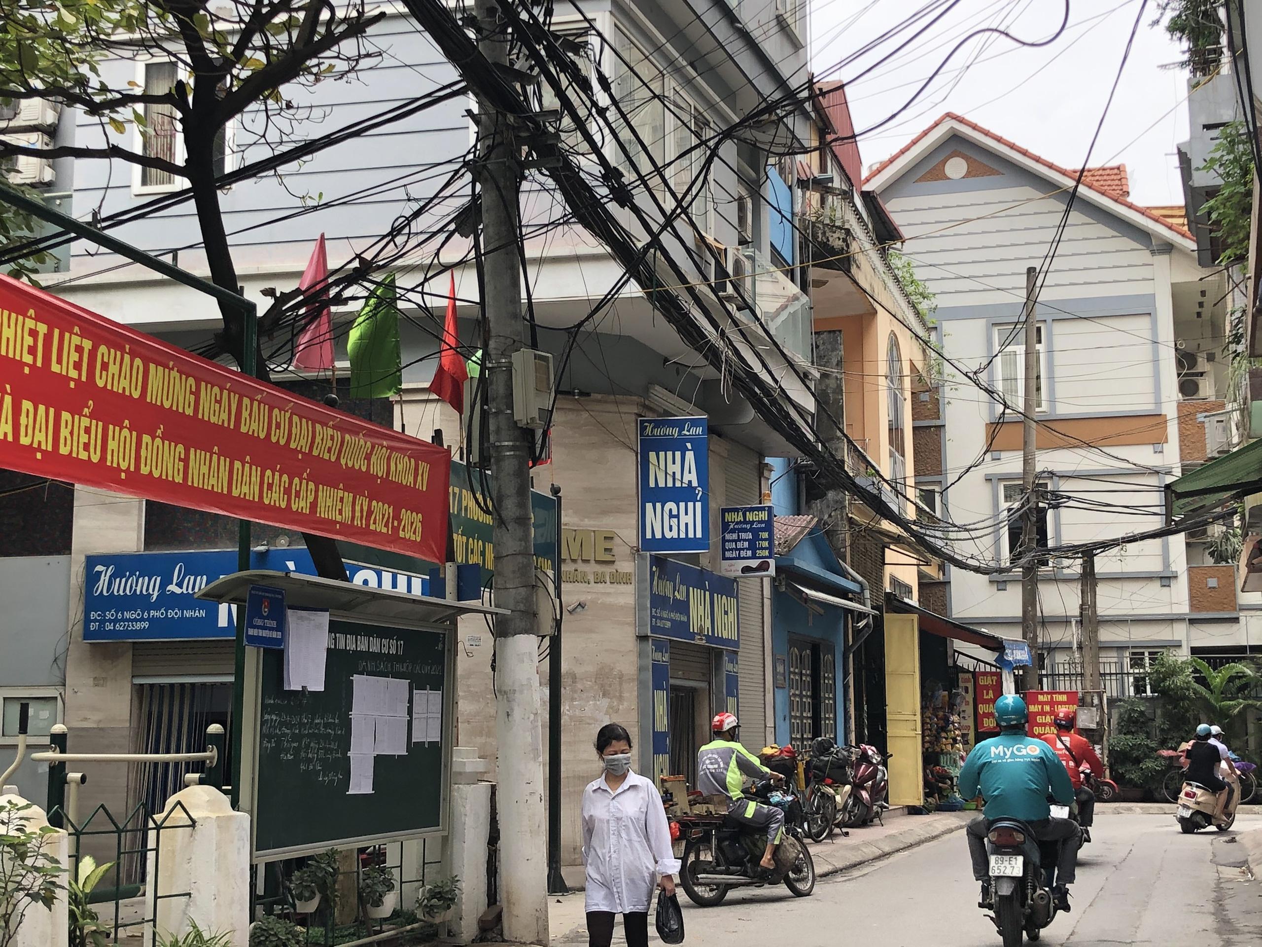 Những khu đất sắp thu hồi ở phường Vĩnh Phúc, quận Ba Đình (phần 2): Đường nối Đội Cấn - Vĩnh Phúc - Ảnh 4.