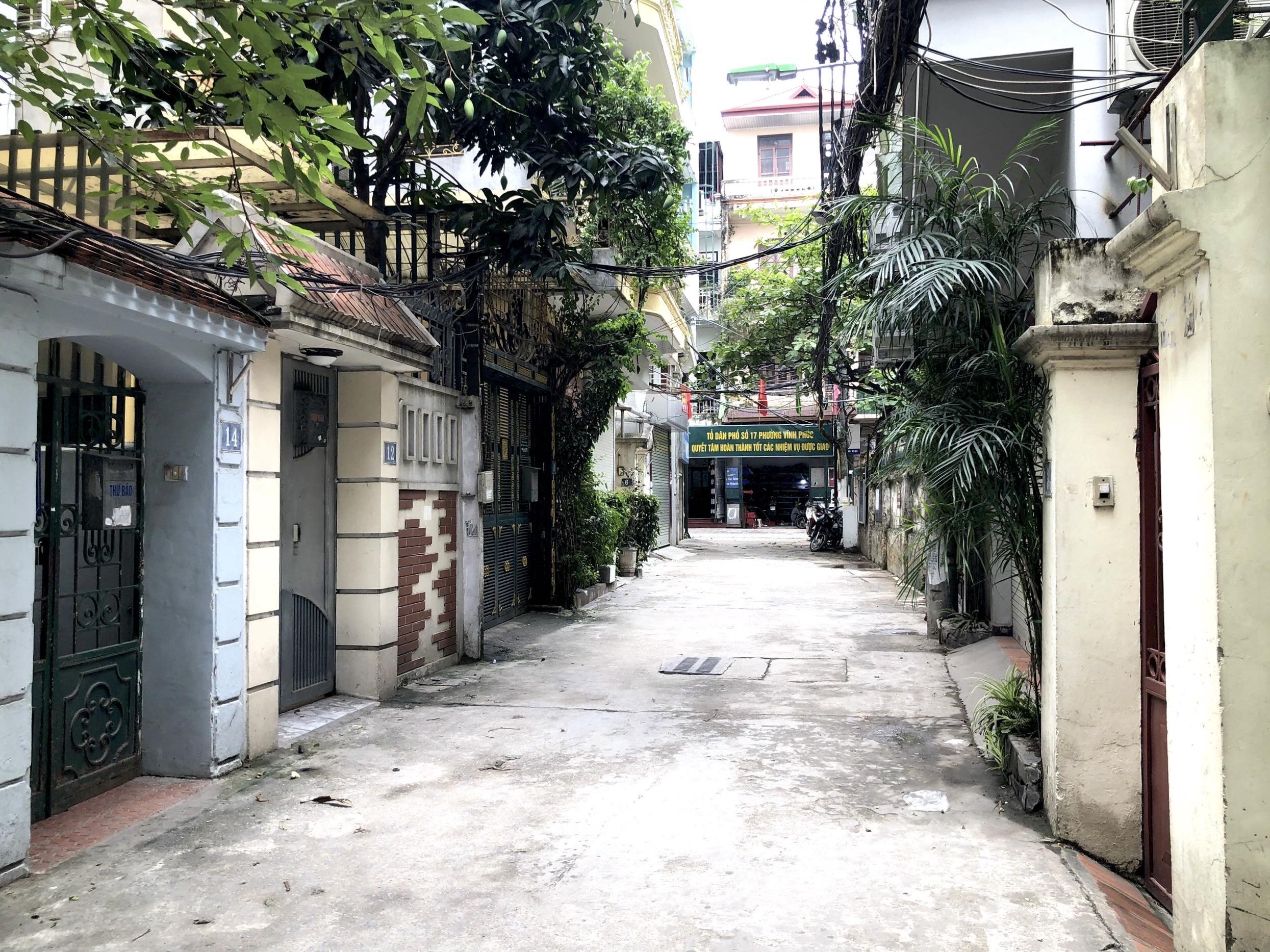 Những khu đất sắp thu hồi ở phường Vĩnh Phúc, quận Ba Đình (phần 2): Đường nối Đội Cấn - Vĩnh Phúc - Ảnh 5.