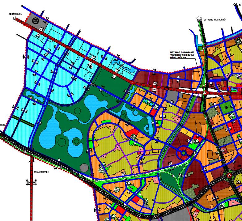 Bản đồ quy hoạch giao thông xã Vĩnh Quỳnh, Thanh Trì, Hà Nội - Ảnh 2.