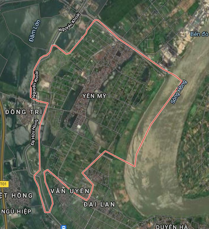 Kế hoạch sử dụng đất xã Yên Mỹ, Thanh Trì, Hà Nội năm 2021 - Ảnh 1.