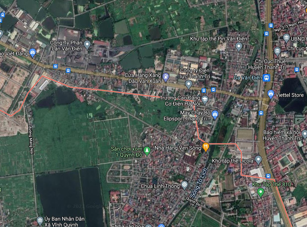 Đường sẽ mở ở xã Vĩnh Quỳnh, Thanh Trì, Hà Nội - Ảnh 2.