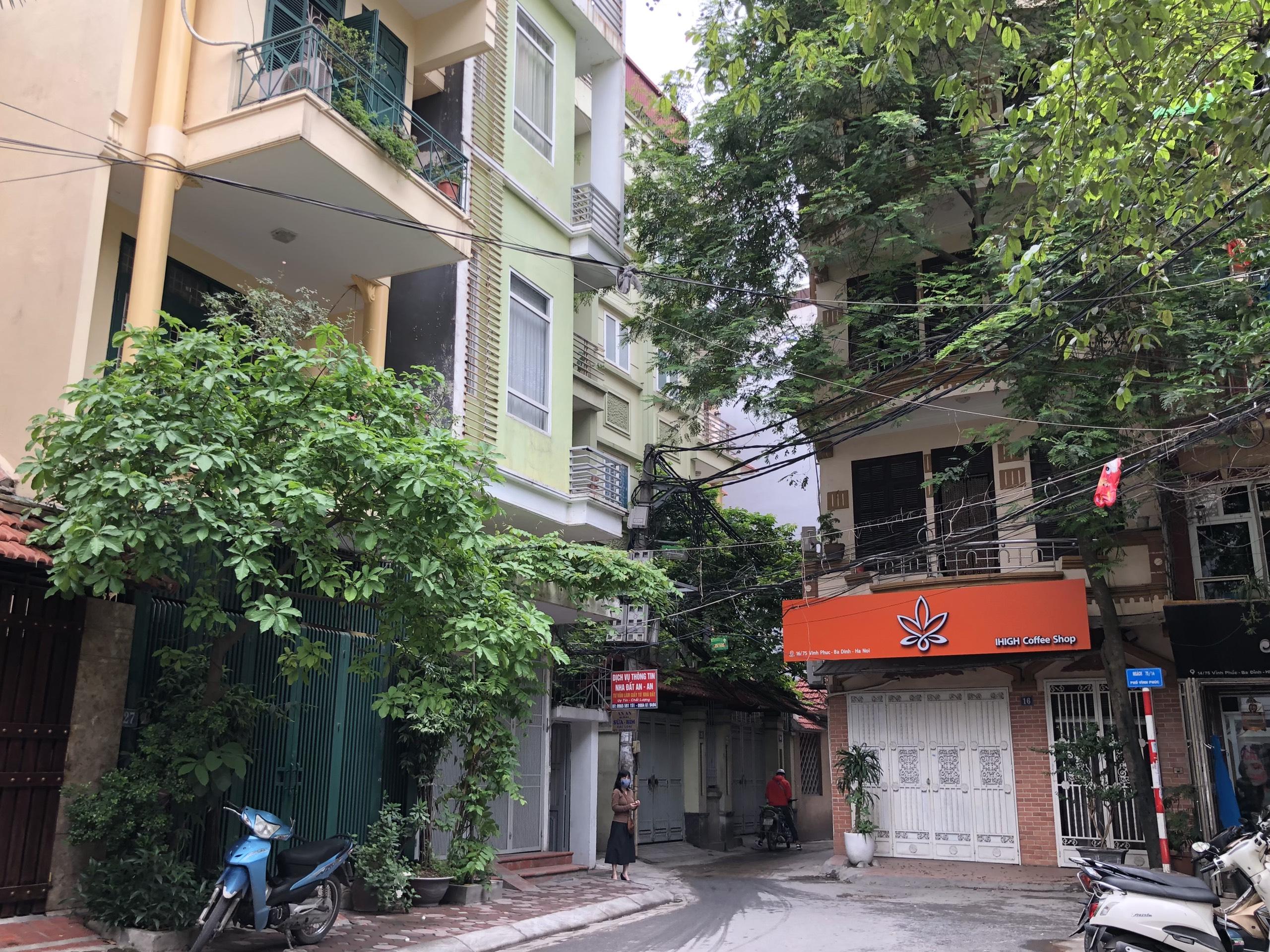Những khu đất sắp thu hồi ở phường Vĩnh Phúc, quận Ba Đình (phần 2): Đường nối Đội Cấn - Vĩnh Phúc - Ảnh 10.