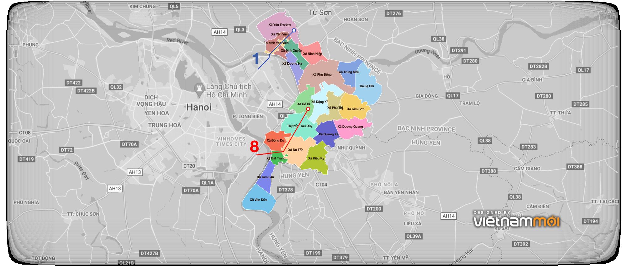 Loạt thông tin quy hoạch nên biết khi mua nhà đất tại Gia Lâm, Hà Nội - Ảnh 10.