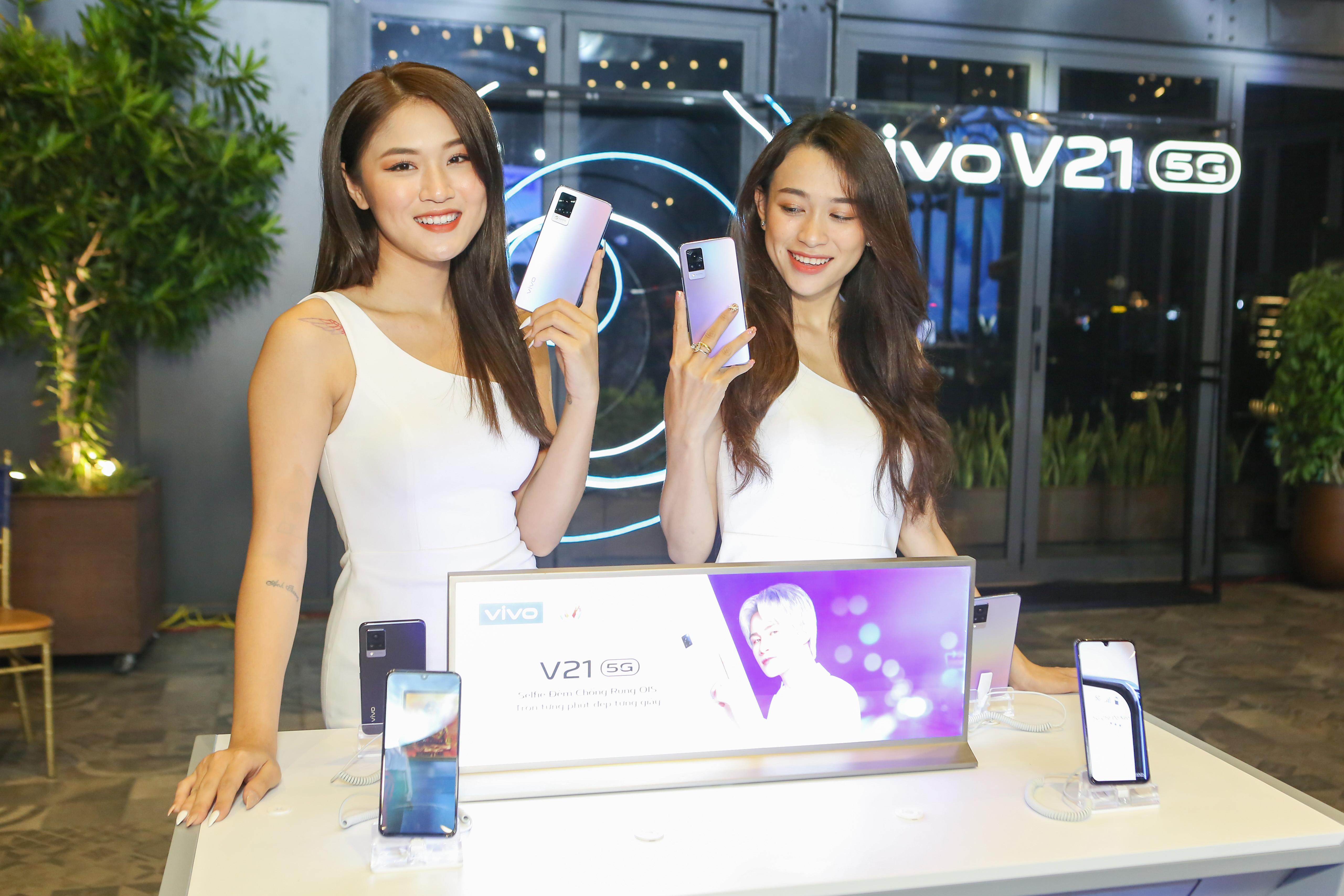 Tân binh vivo V21 5G ra mắt với thiết kế thời thượng cùng camera selfie đỉnh 44MP OIS - Ảnh 1.