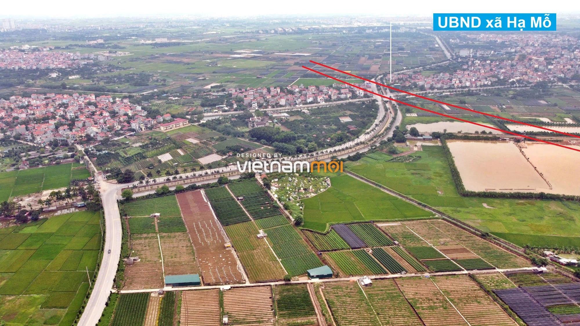 Toàn cảnh đường Vành đai 4 theo quy hoạch qua huyện Đan Phượng, Hà Nội - Ảnh 3.
