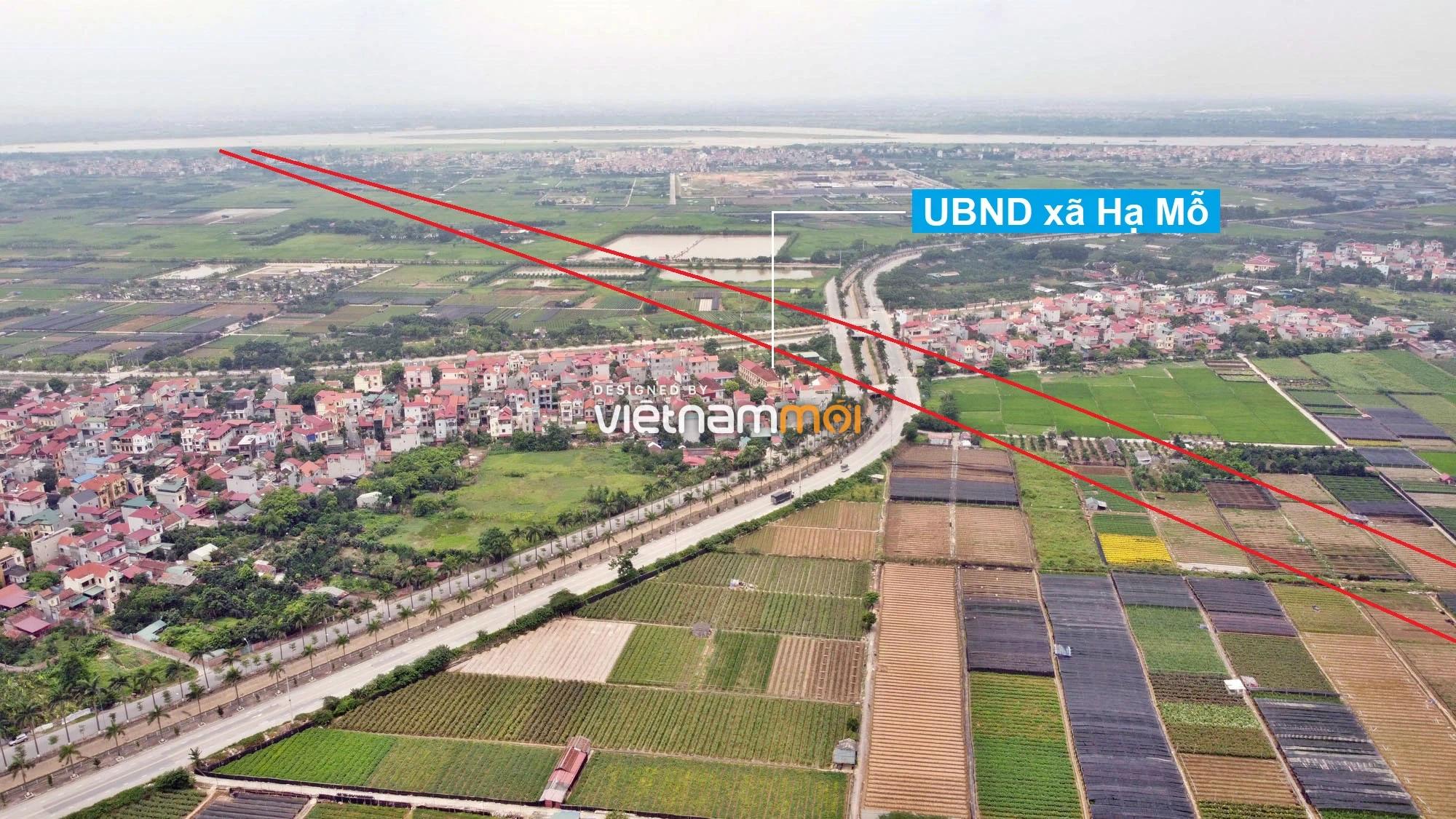 Toàn cảnh đường Vành đai 4 theo quy hoạch qua huyện Đan Phượng, Hà Nội - Ảnh 4.